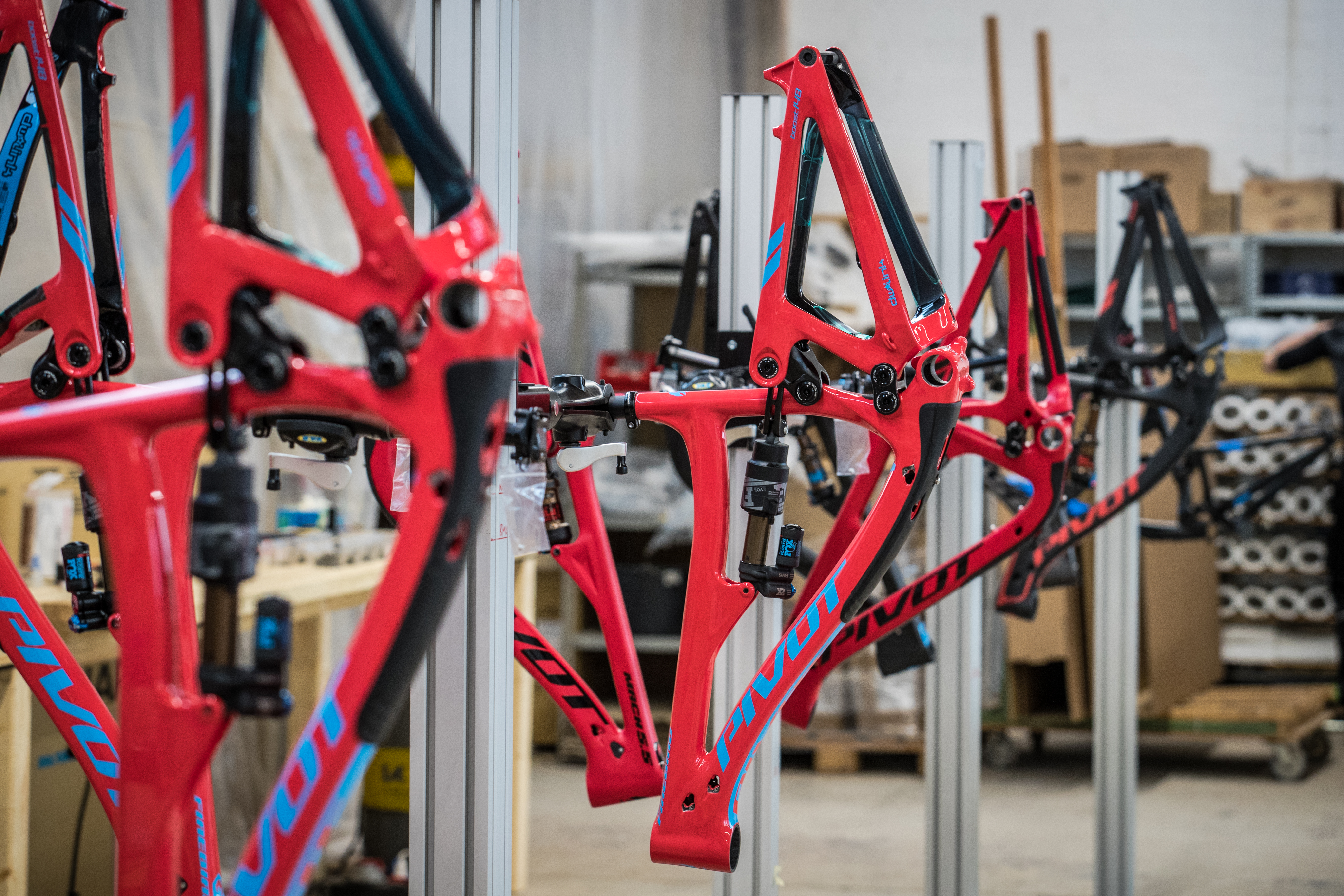 Pivot bike build up Bad Salzuflen 1