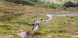 UCI Downhill World Cup Fort William 2018 - Track Walk