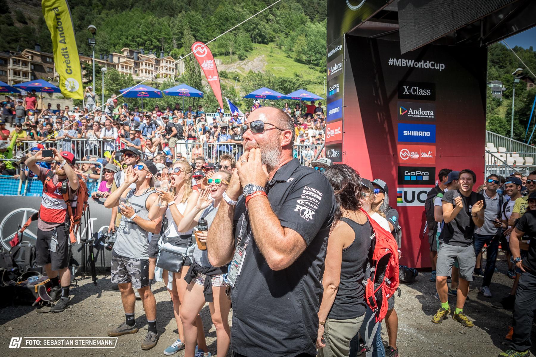 UCI Downhill World Cup 2018 La Massana