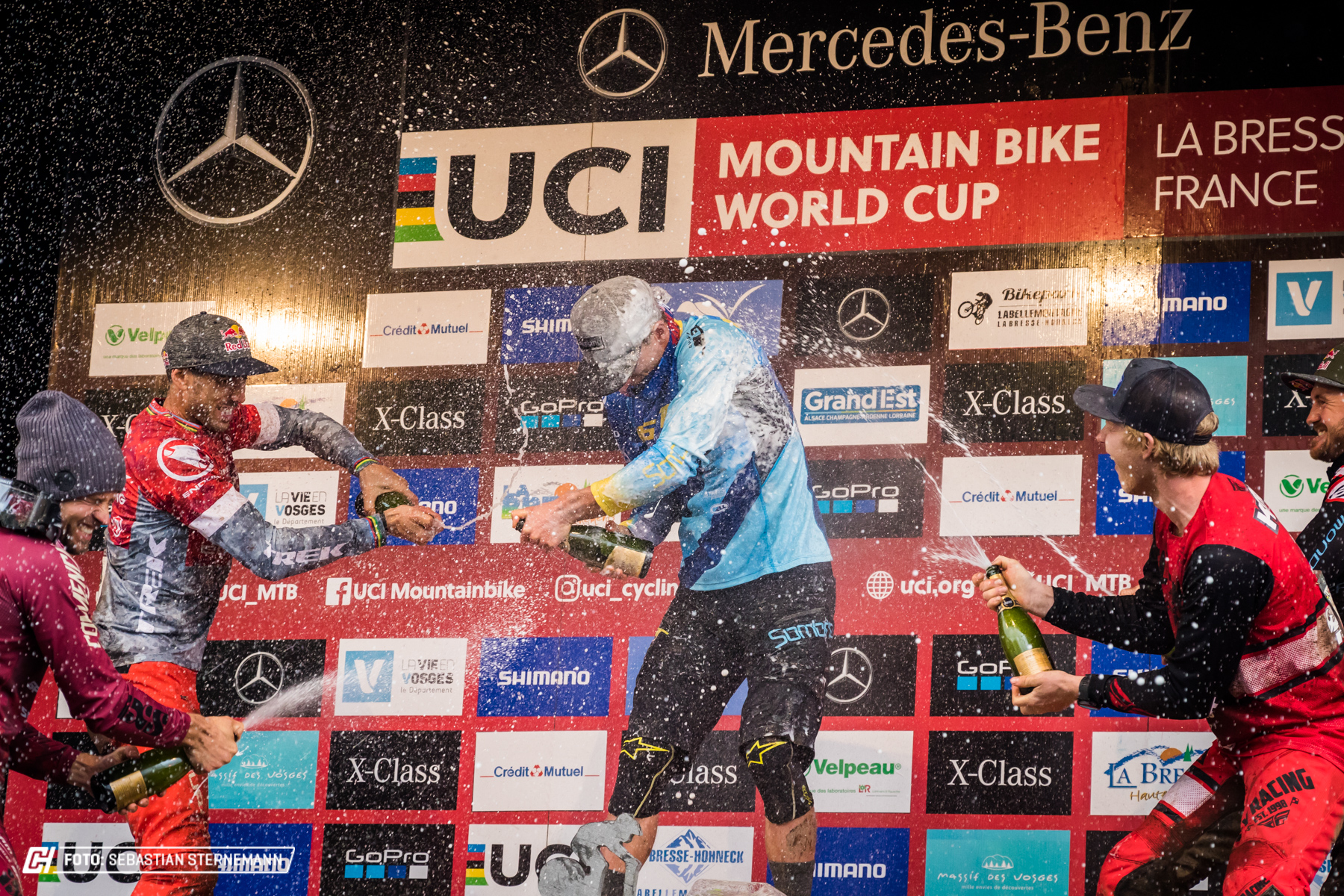UCI Downhill World Cup La Bresse 2018