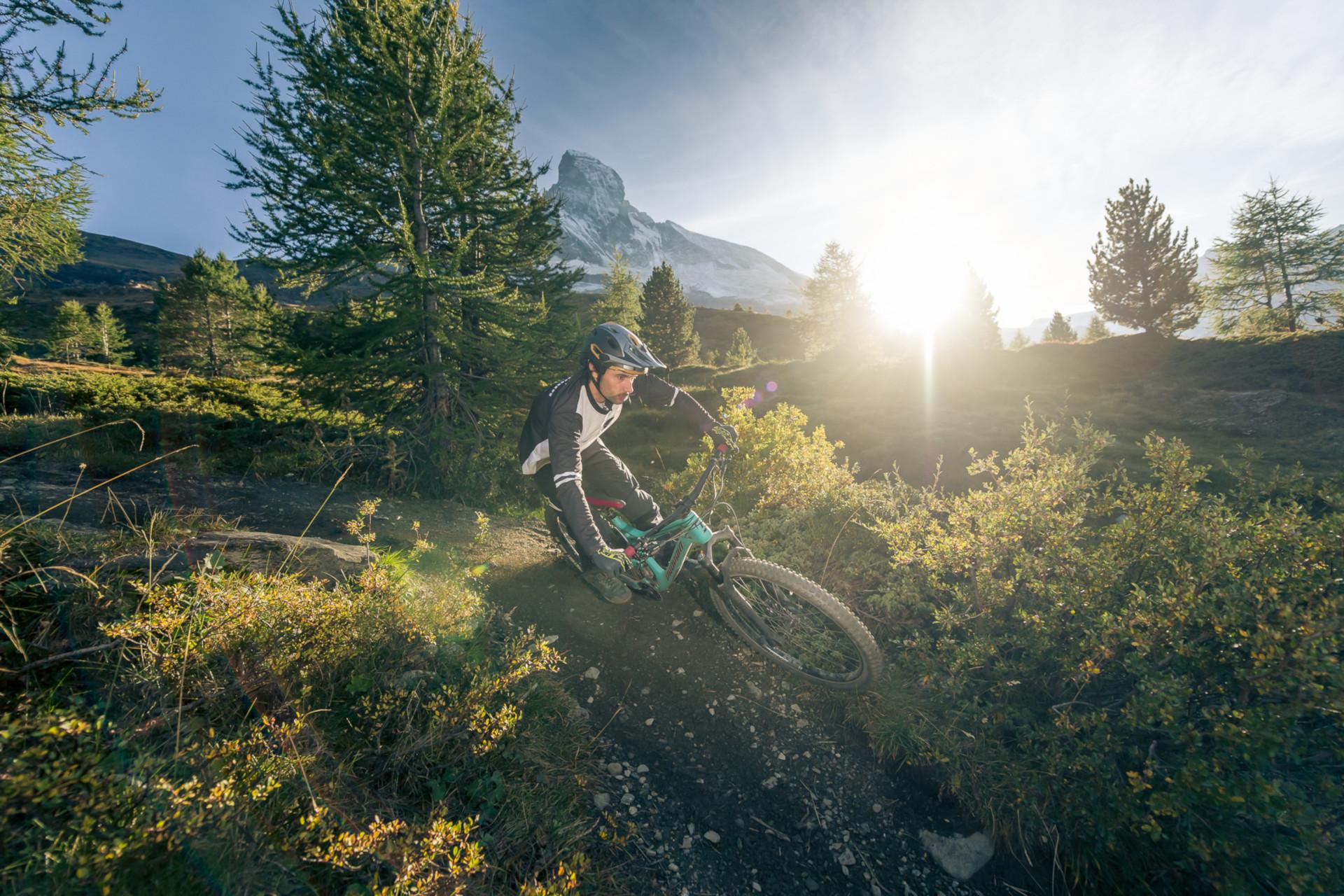 Tyee Carbon Action Ben Reid Zermatt 2