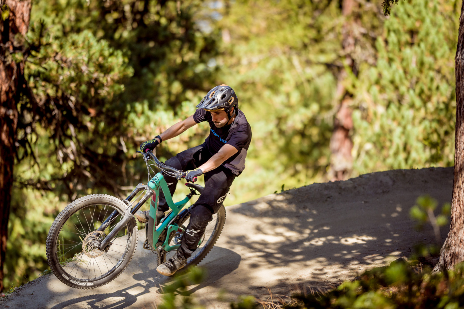 Tyee Carbon Action Ben Reid Zermatt 5