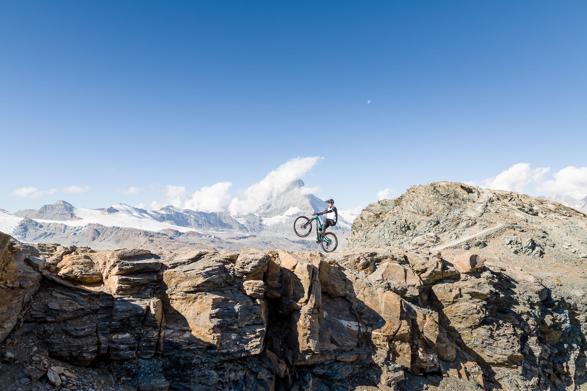 Tyee Carbon Action Ben Reid Zermatt 7