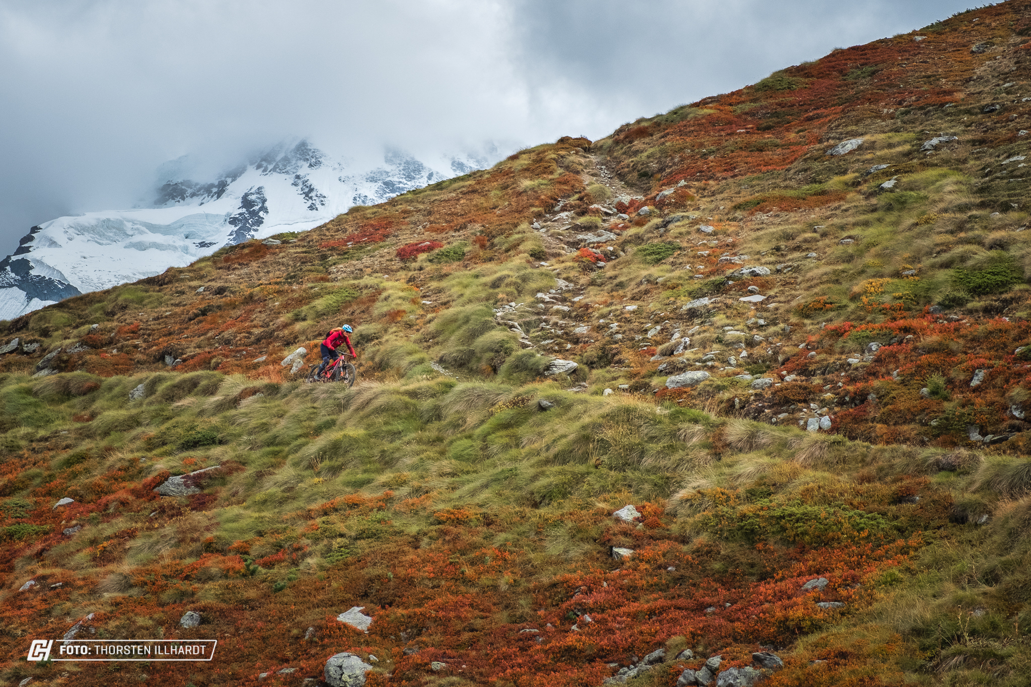 Mountainbiken in Zermatt