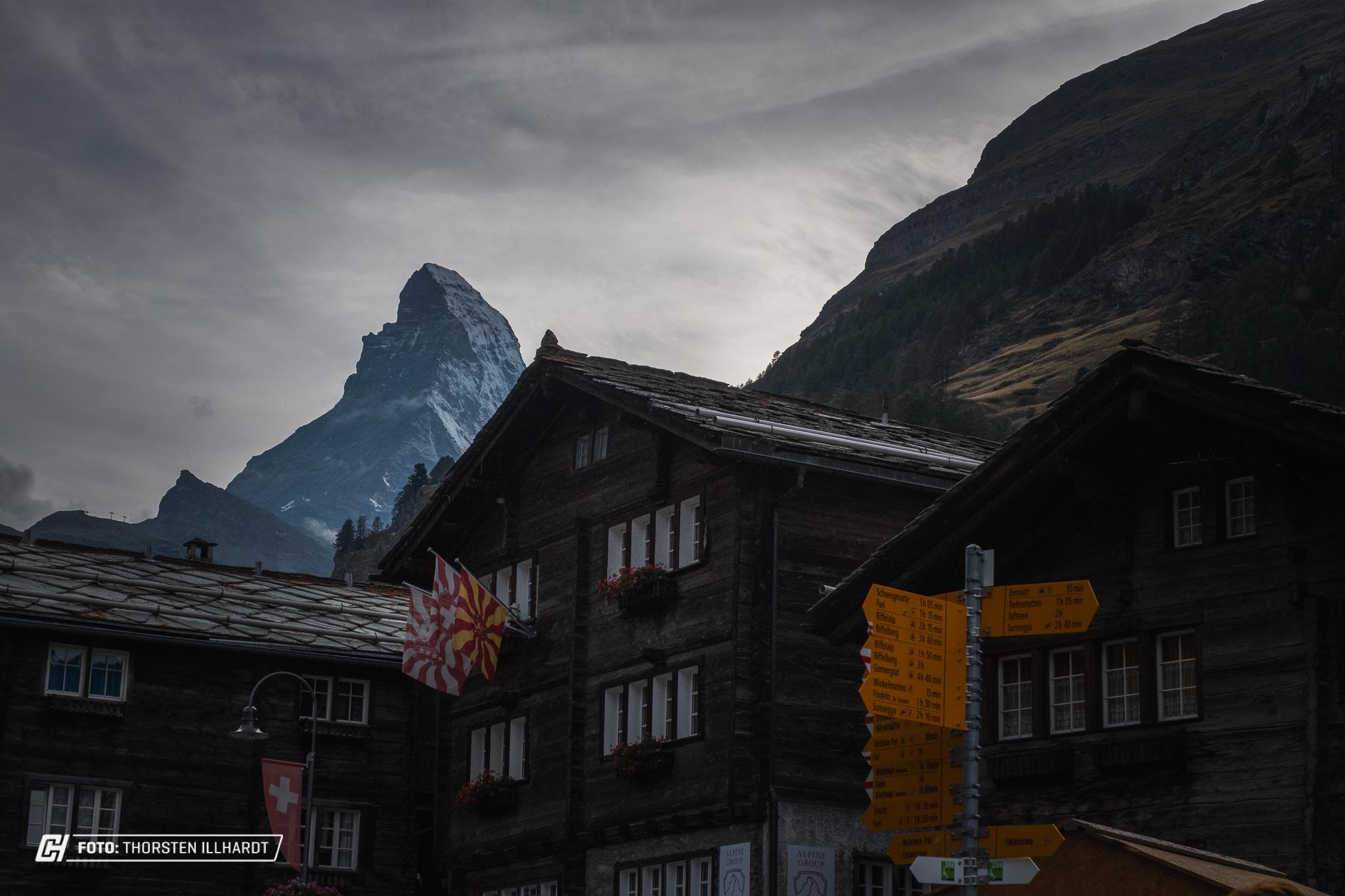 Zermatt Dorf 1798