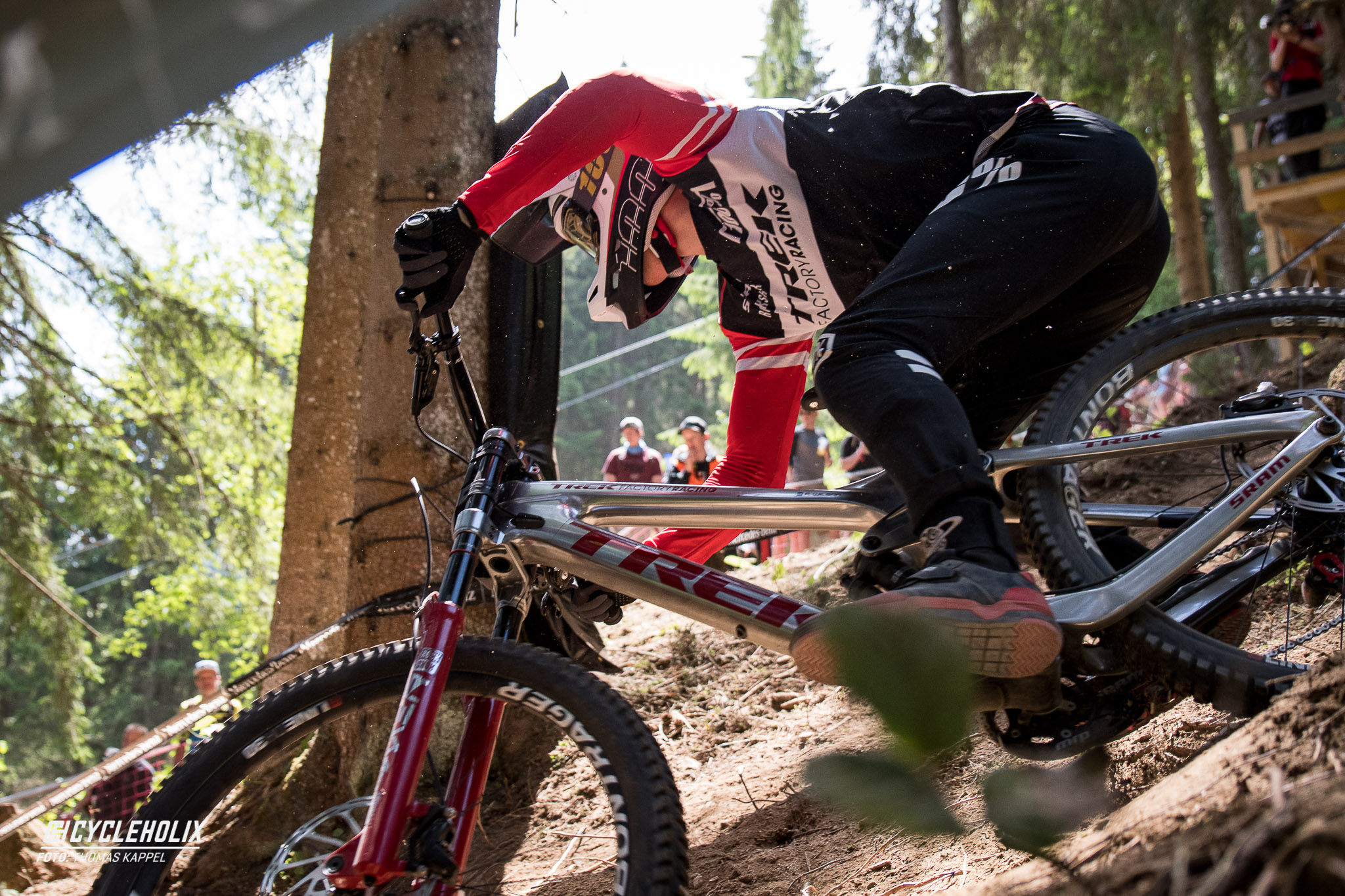 2019 Downhill Worldcup Leogang Finale Action 10