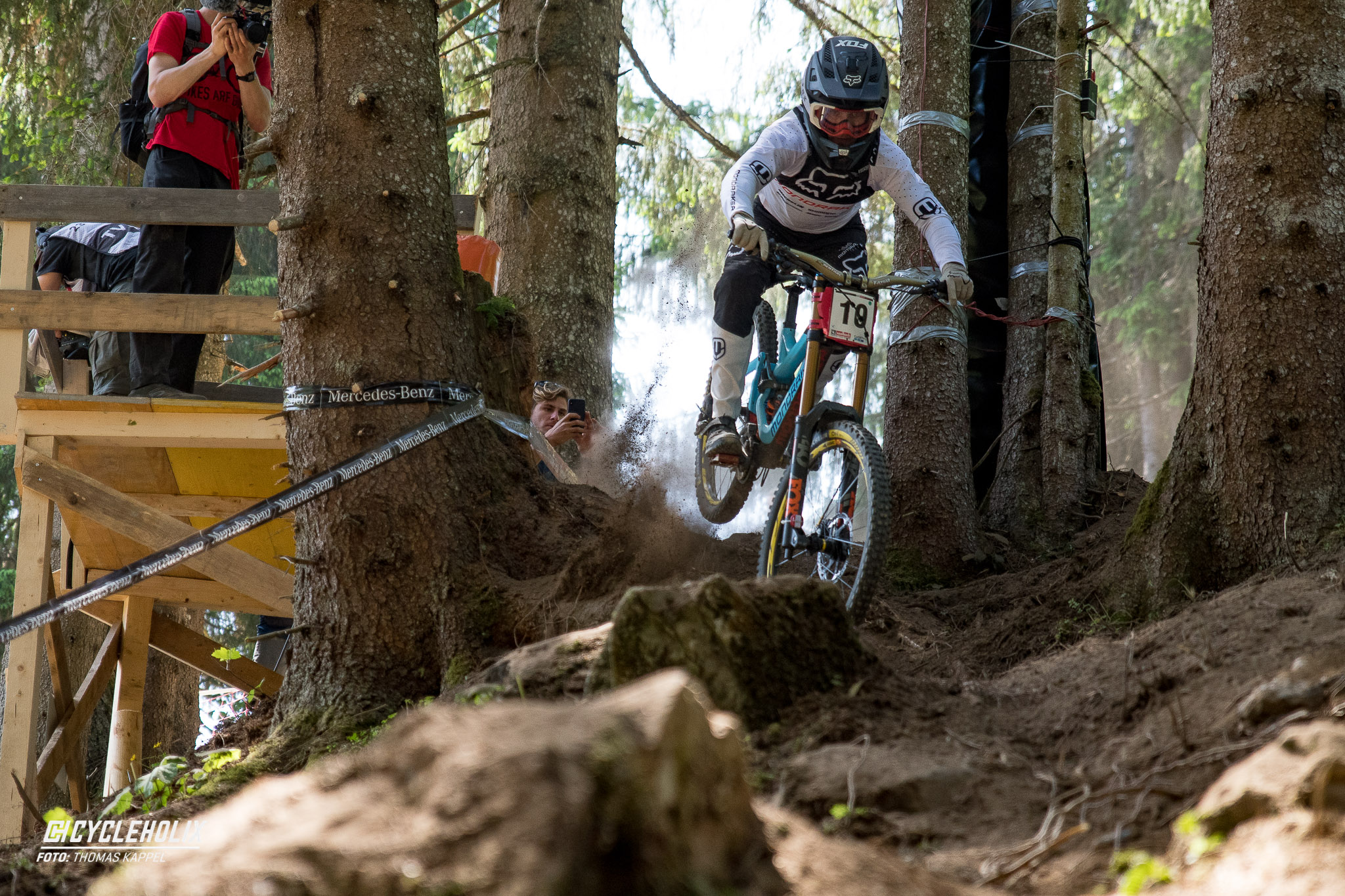 2019 Downhill Worldcup Leogang Finale Action 12