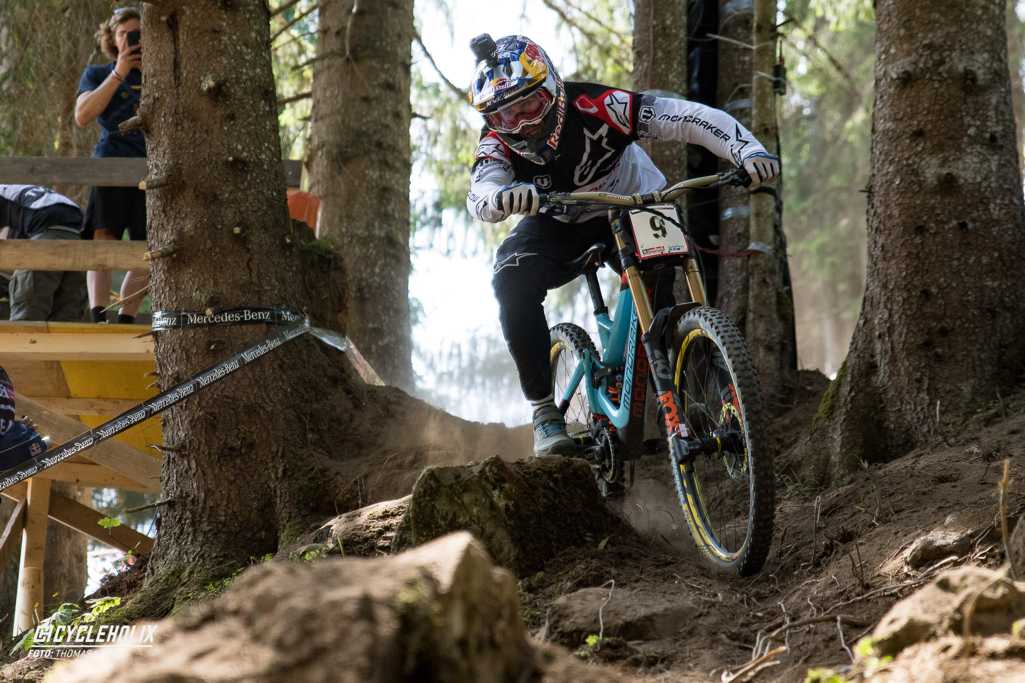 2019 Downhill Worldcup Leogang Finale Action 14