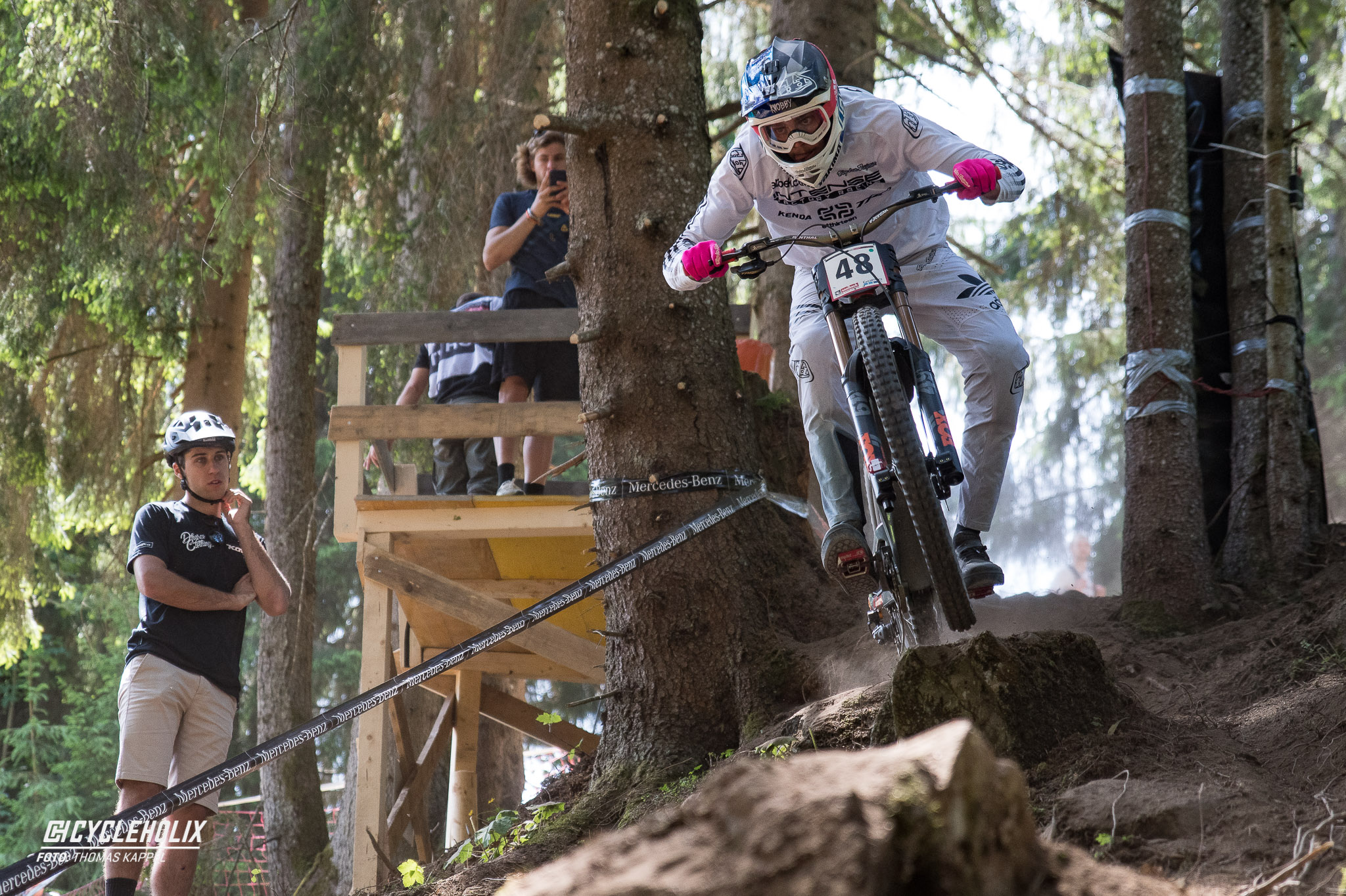 2019 Downhill Worldcup Leogang Finale Action 15