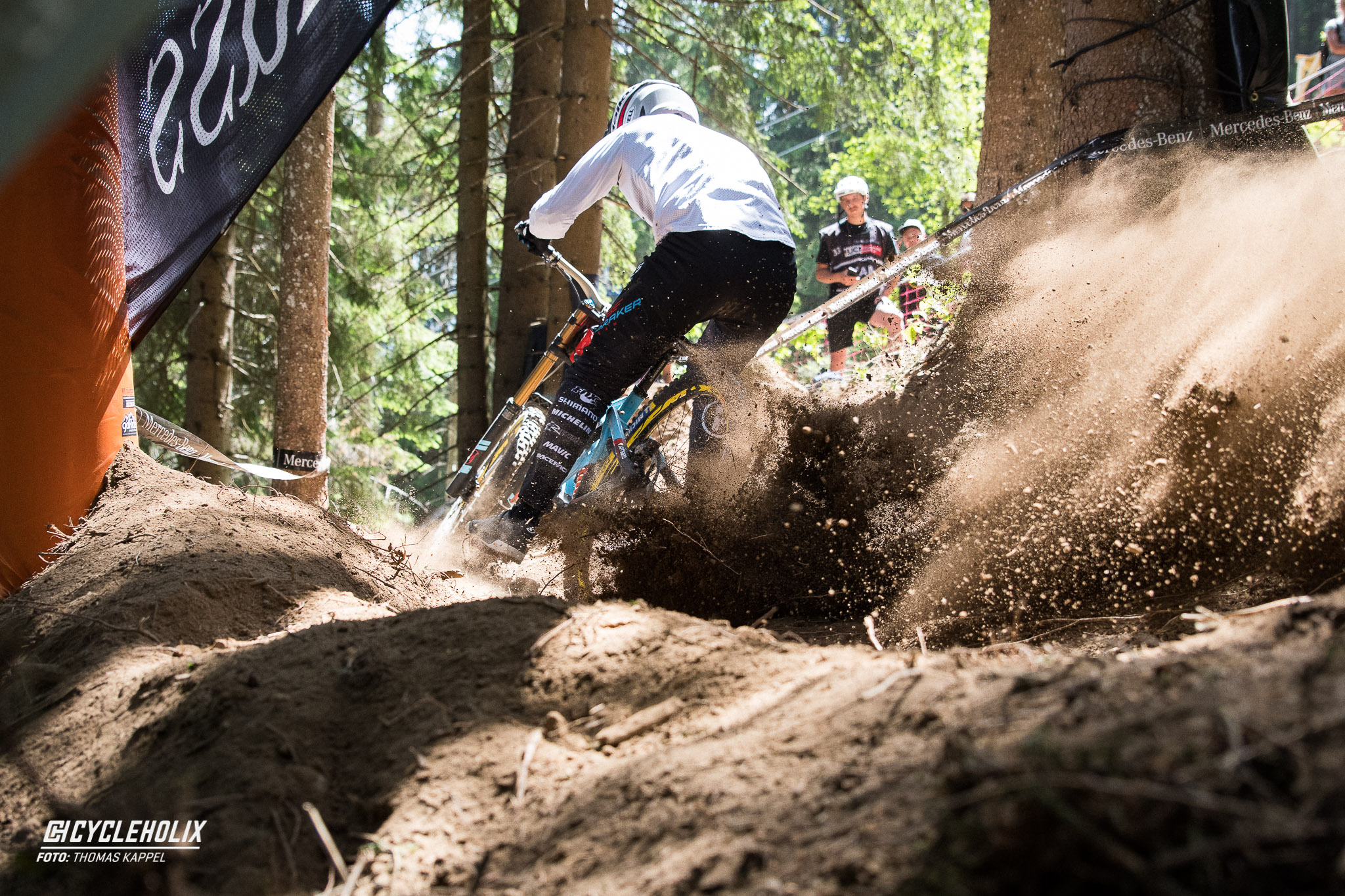 2019 Downhill Worldcup Leogang Finale Action 16