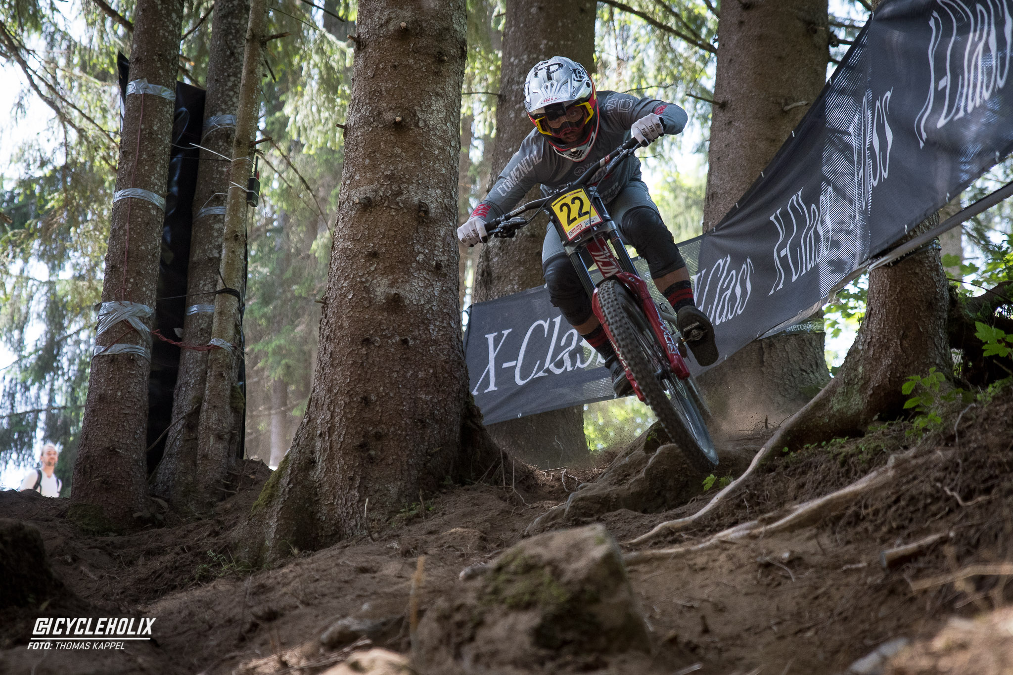 2019 Downhill Worldcup Leogang Finale Action 17
