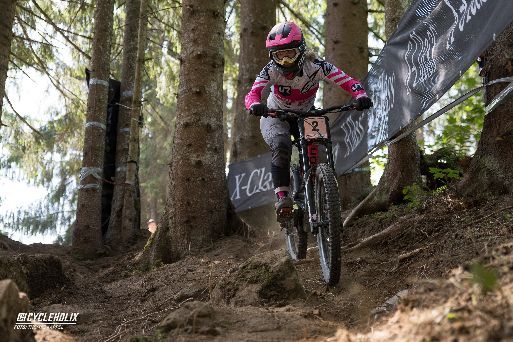 2019 Downhill Worldcup Leogang Finale Action 20