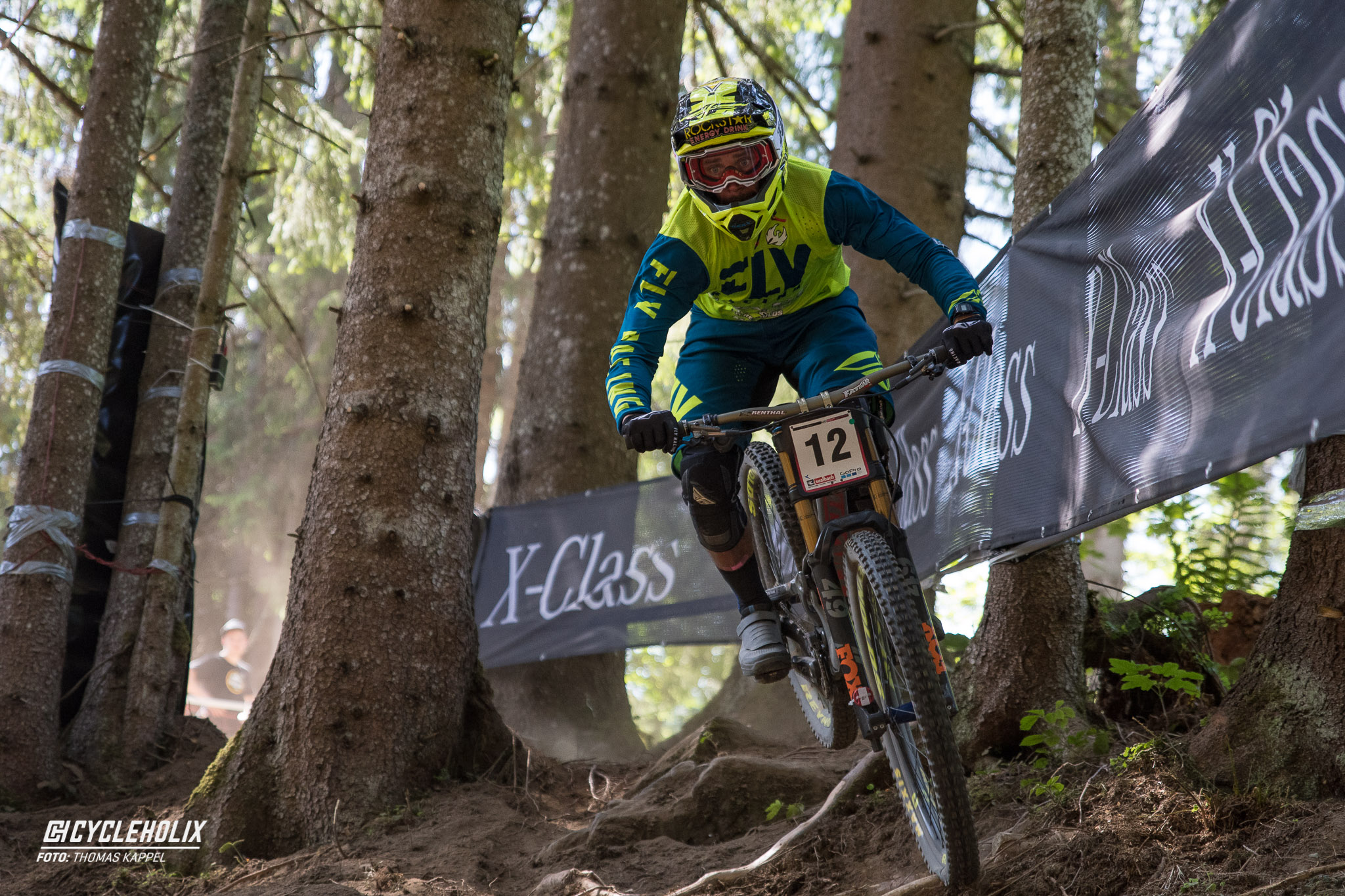 2019 Downhill Worldcup Leogang Finale Action 21