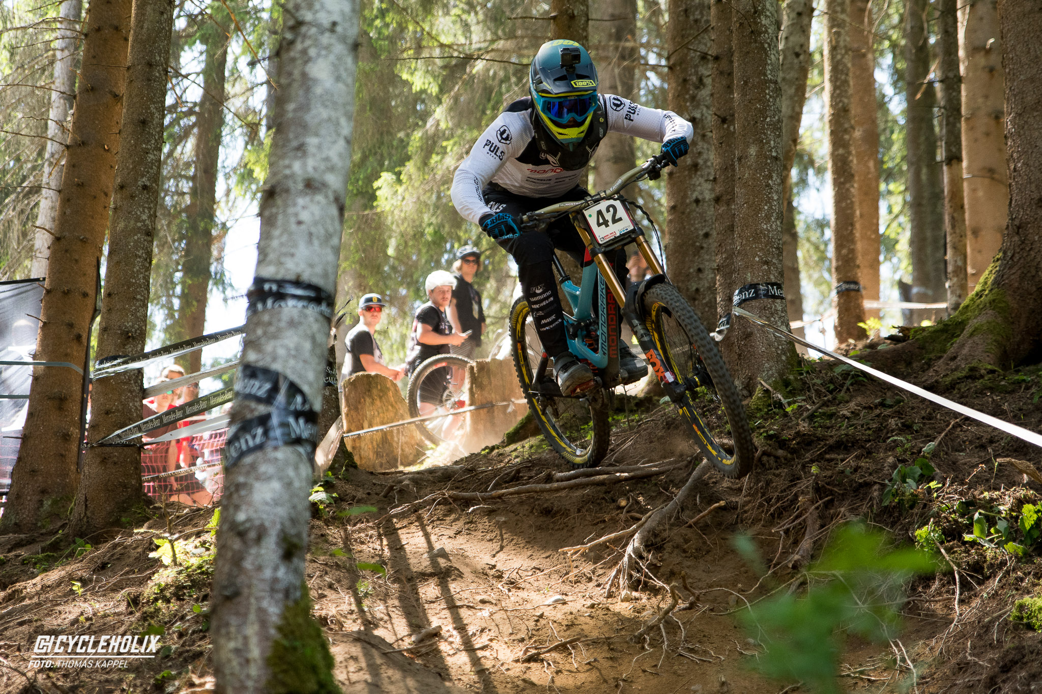 2019 Downhill Worldcup Leogang Finale Action 22