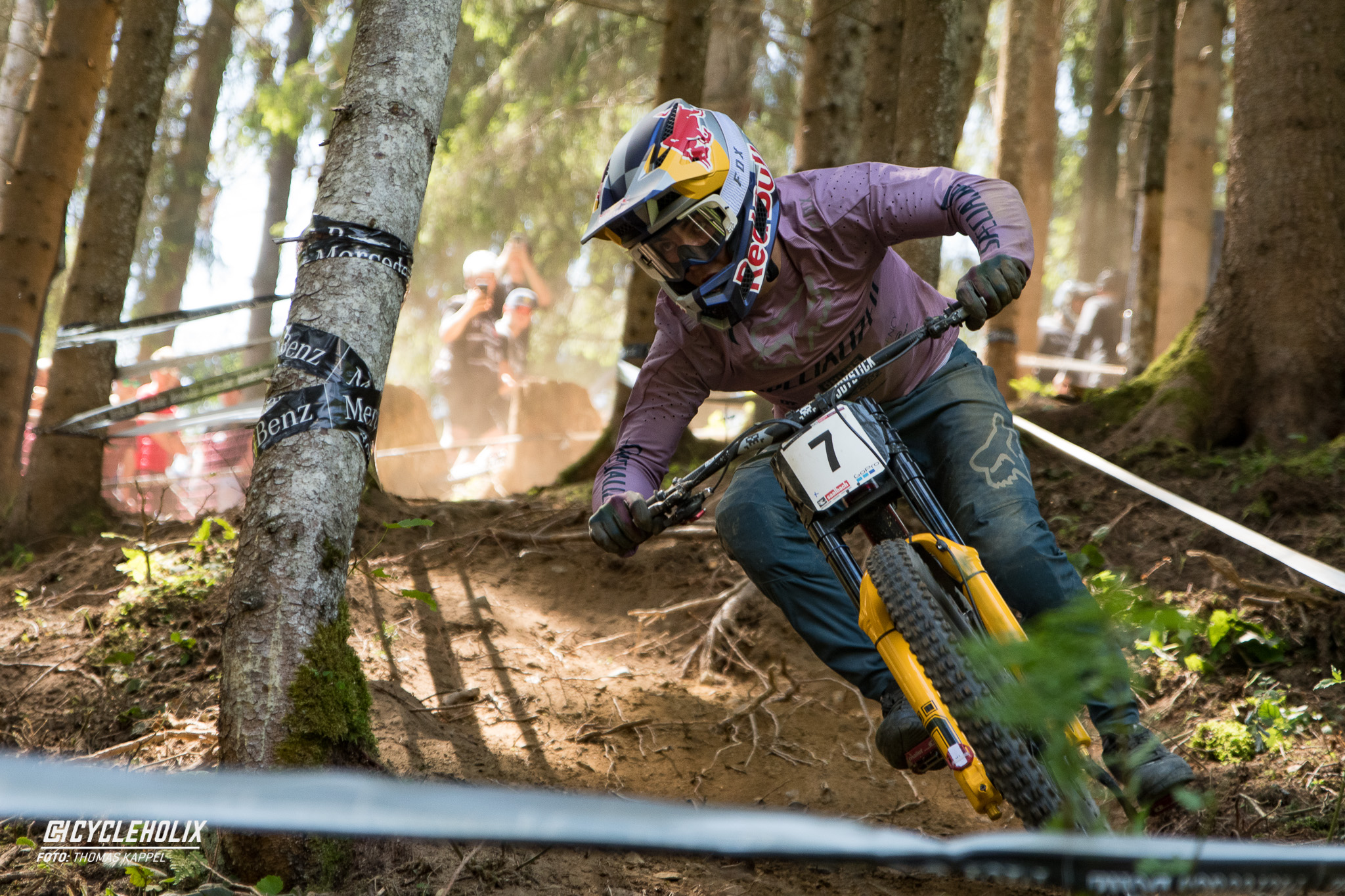 2019 Downhill Worldcup Leogang Finale Action 23