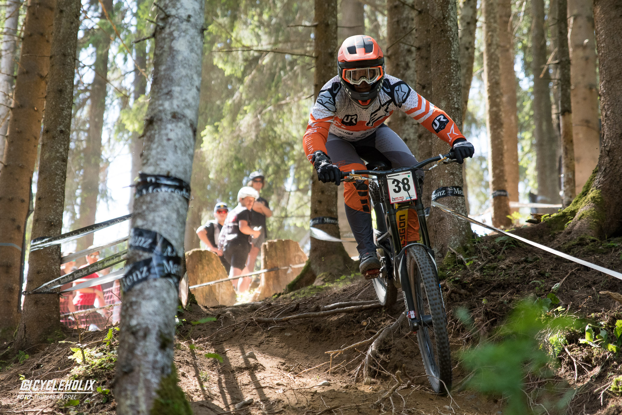 2019 Downhill Worldcup Leogang Finale Action 24