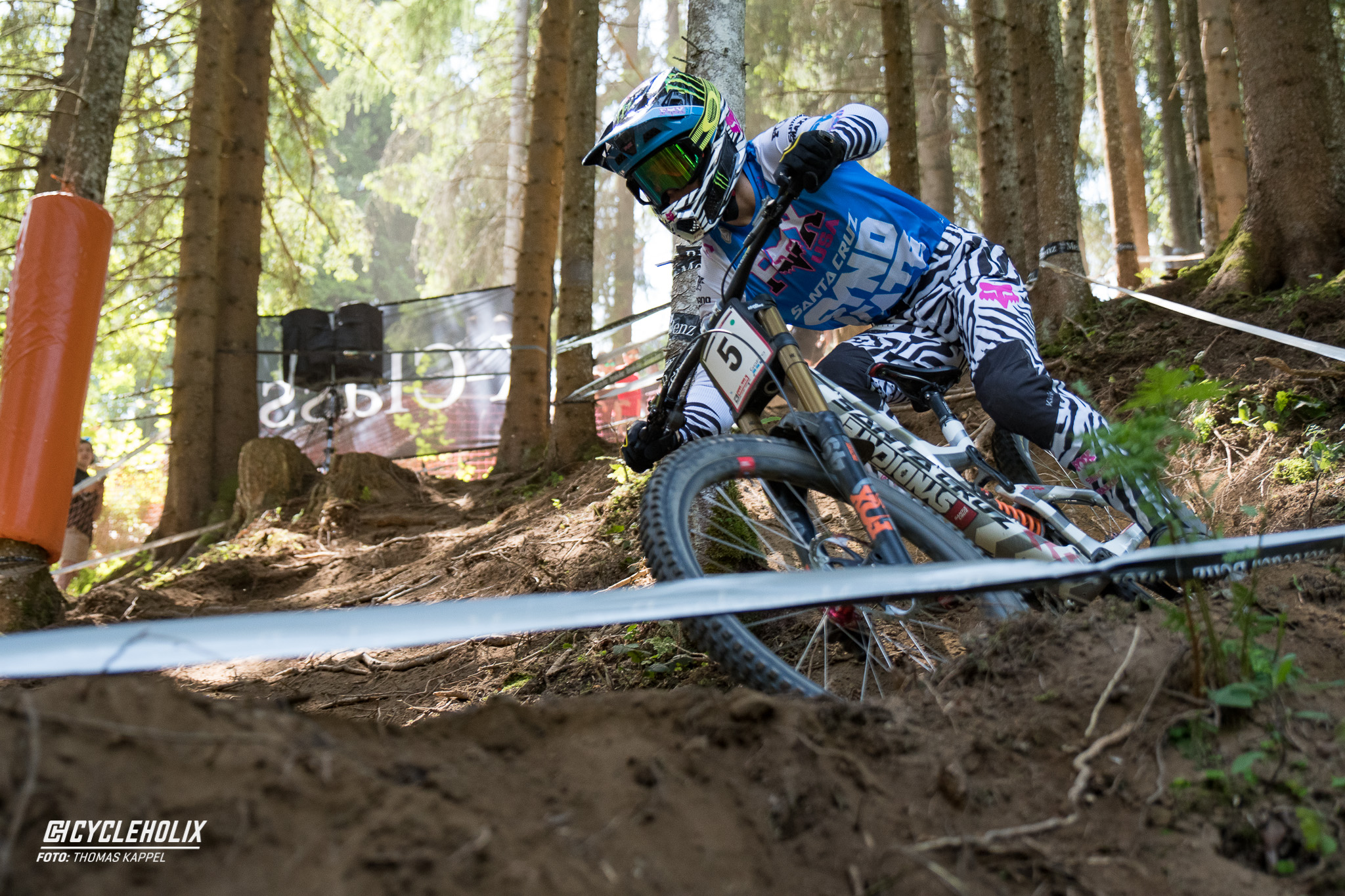 2019 Downhill Worldcup Leogang Finale Action 26