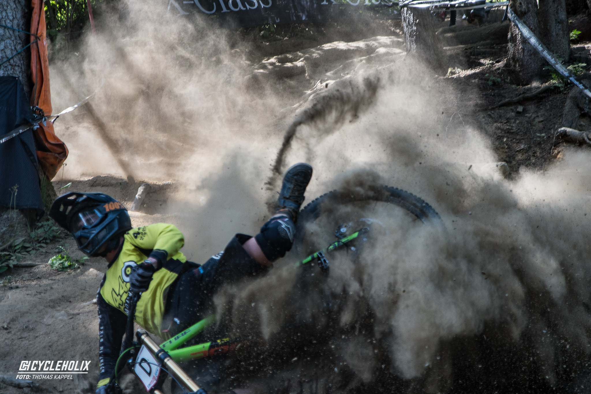 2019 Downhill Worldcup Leogang Finale Action 4