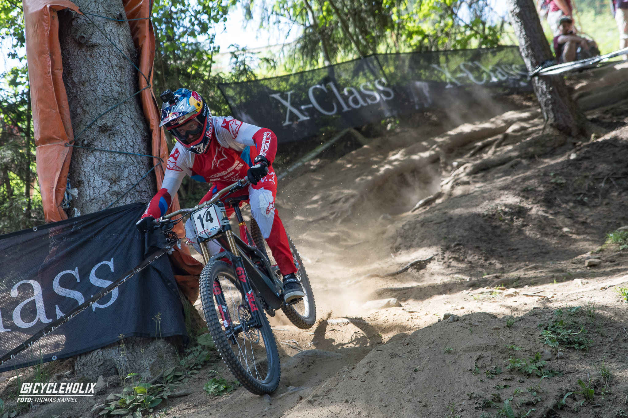 2019 Downhill Worldcup Leogang Finale Action 7
