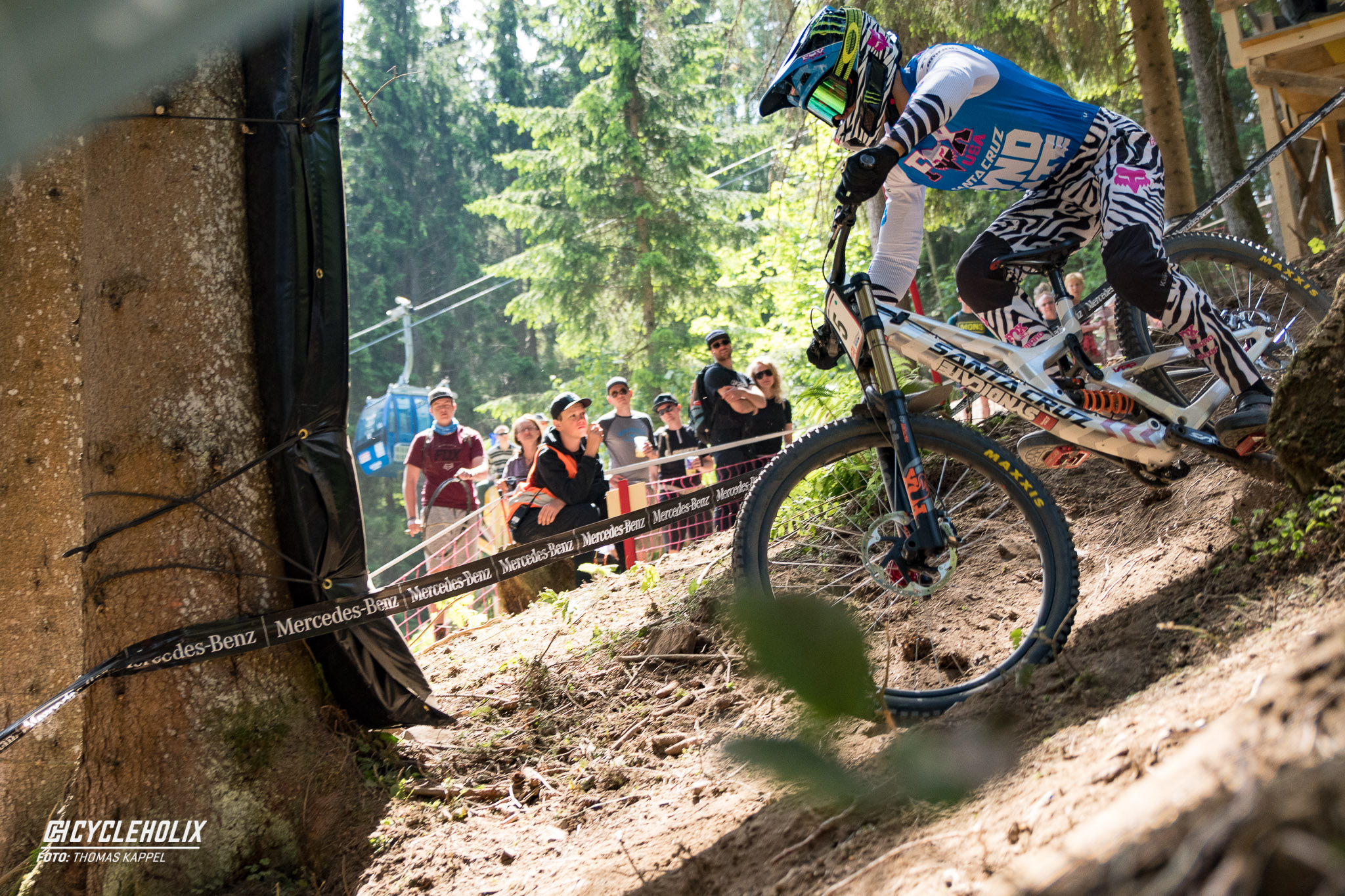 2019 Downhill Worldcup Leogang Finale Action 8