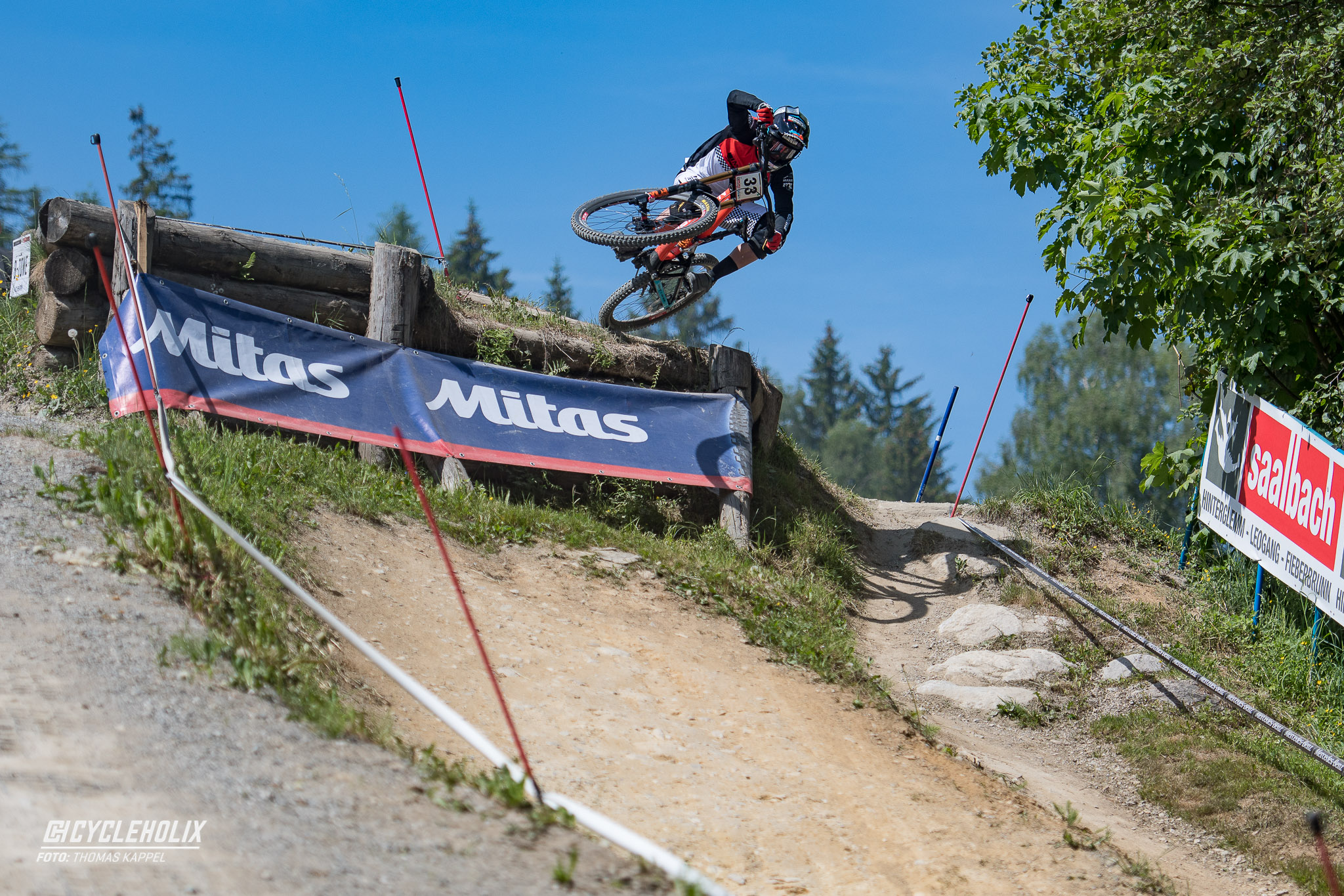 2019 Downhill Worldcup Leogang Finale Action A 1