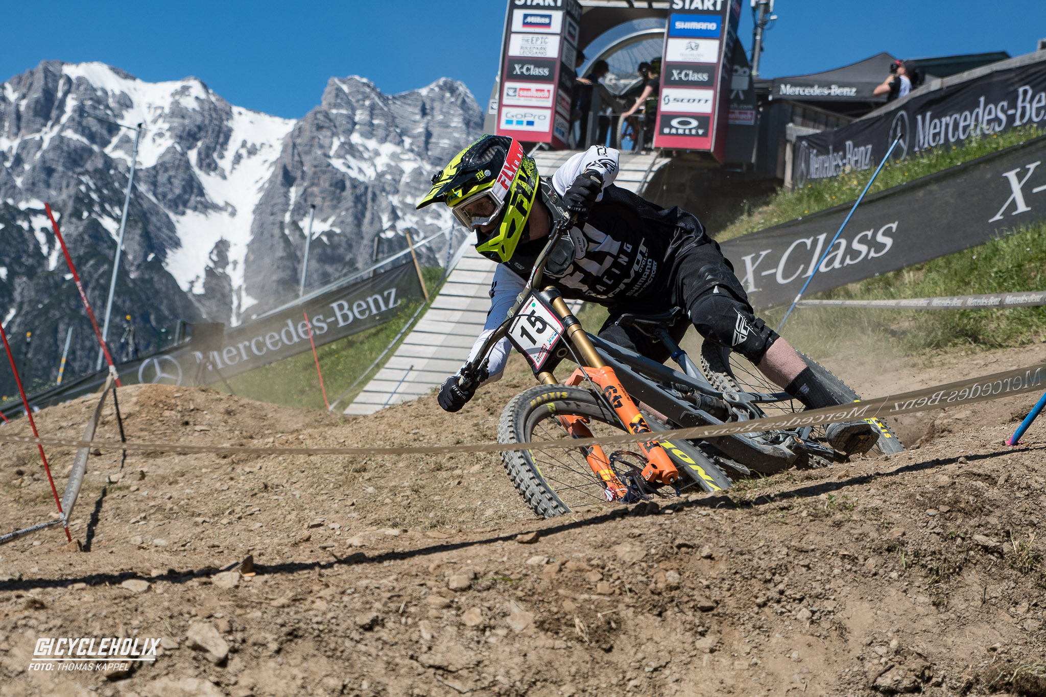 2019 Downhill Worldcup Leogang Finale Action B 1