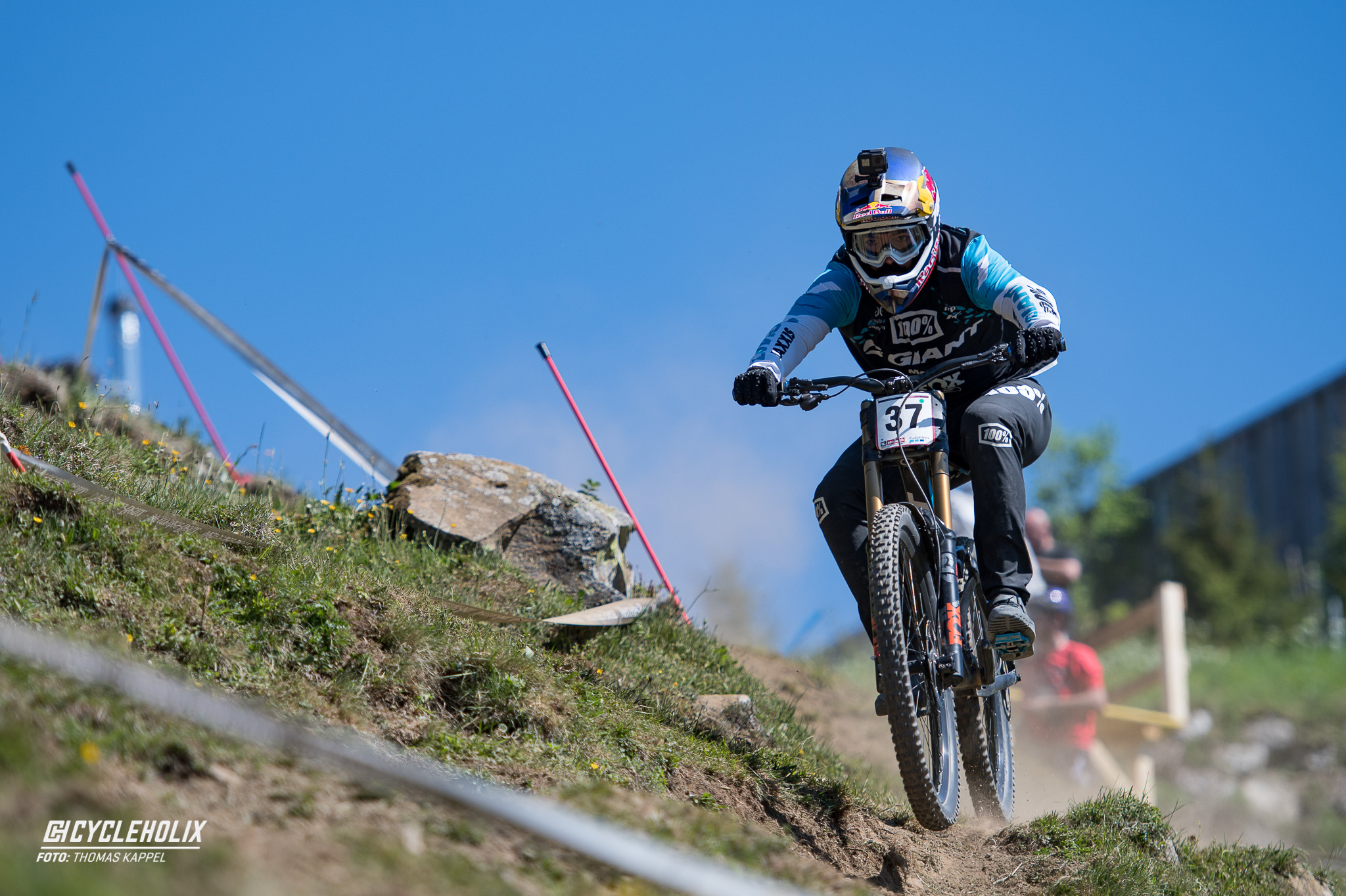 2019 Downhill Worldcup Leogang Finale Action B 2
