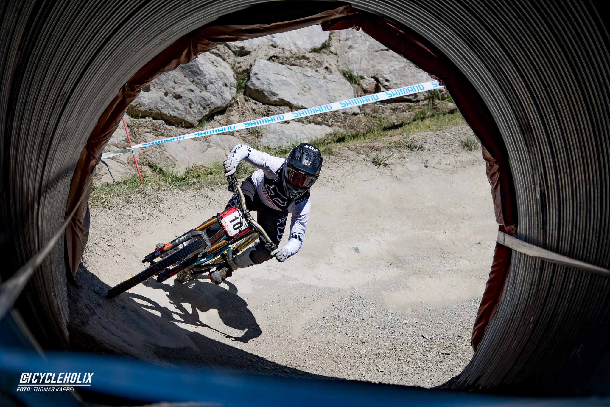 2019 Downhill Worldcup Leogang Finale Action FR 1