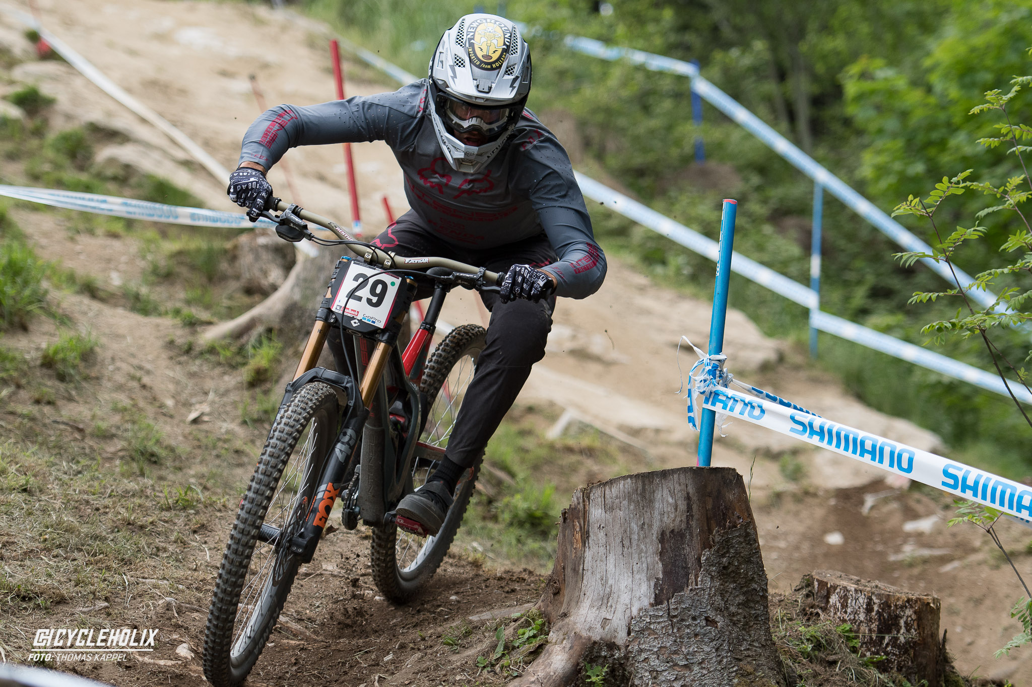 2019 Downhill Worldcup Leogang Finale Action QA 12