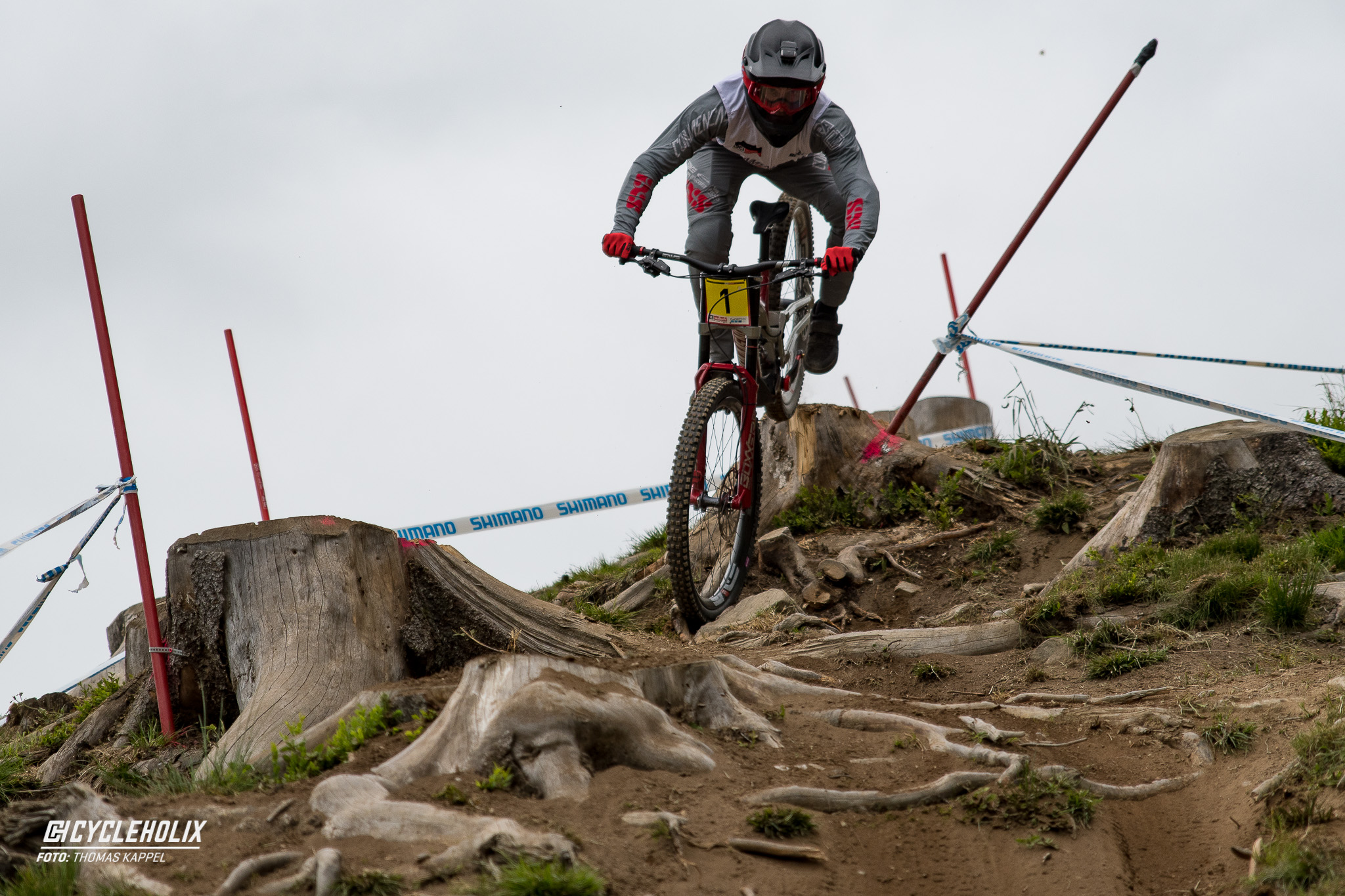 2019 Downhill Worldcup Leogang Finale Action QA 13