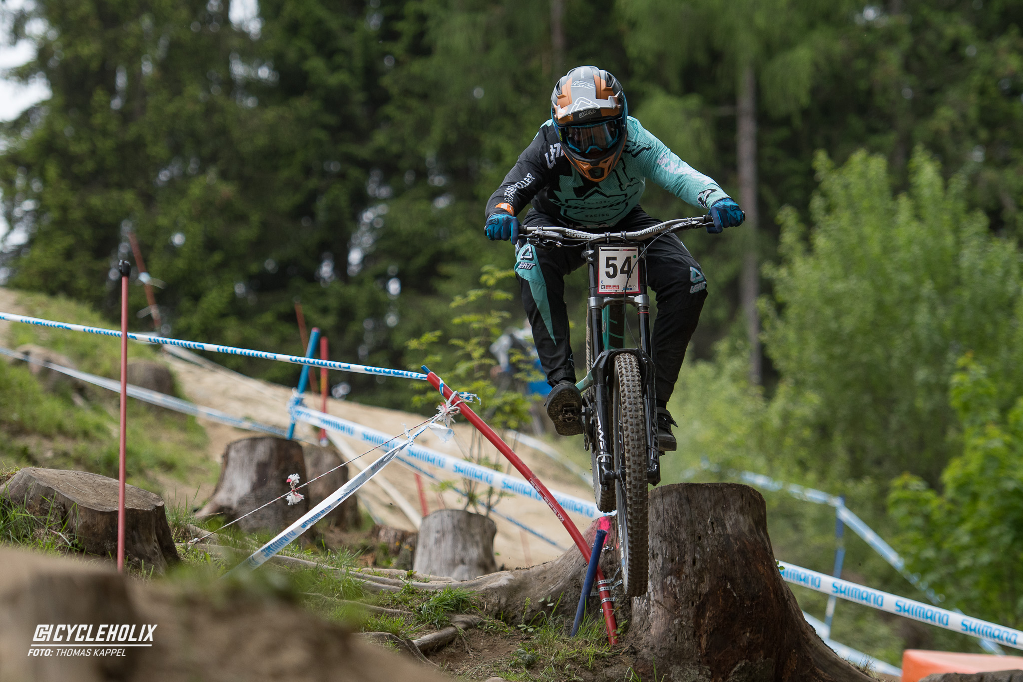2019 Downhill Worldcup Leogang Finale Action QA 16