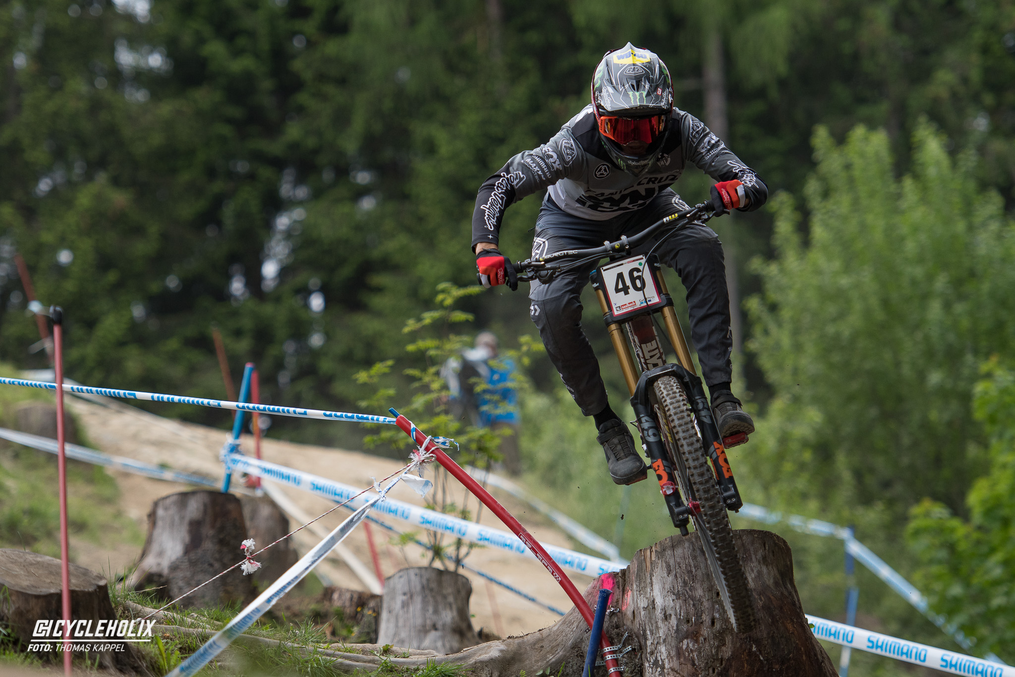 2019 Downhill Worldcup Leogang Finale Action QA 17