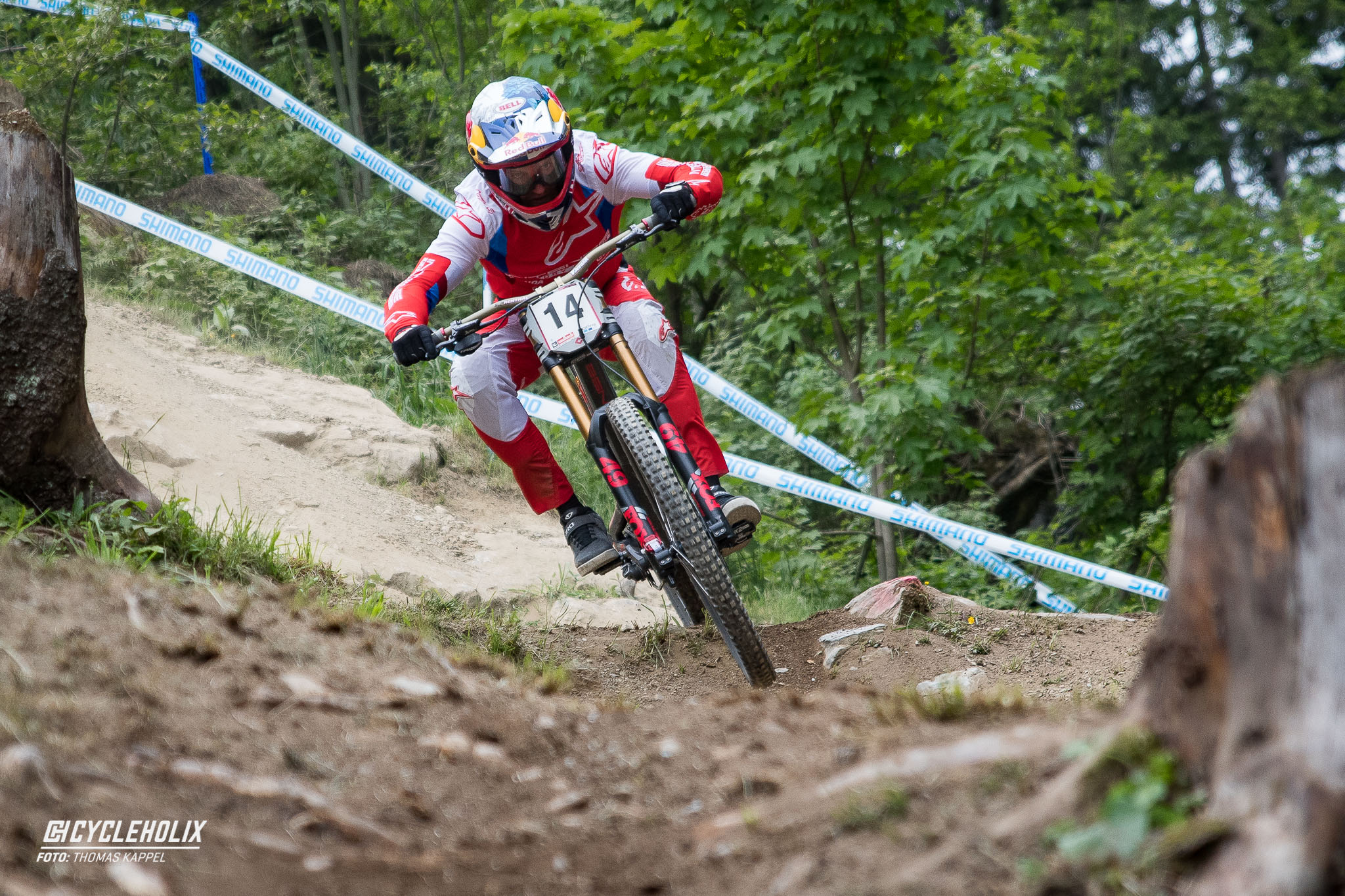 2019 Downhill Worldcup Leogang Finale Action QA 18