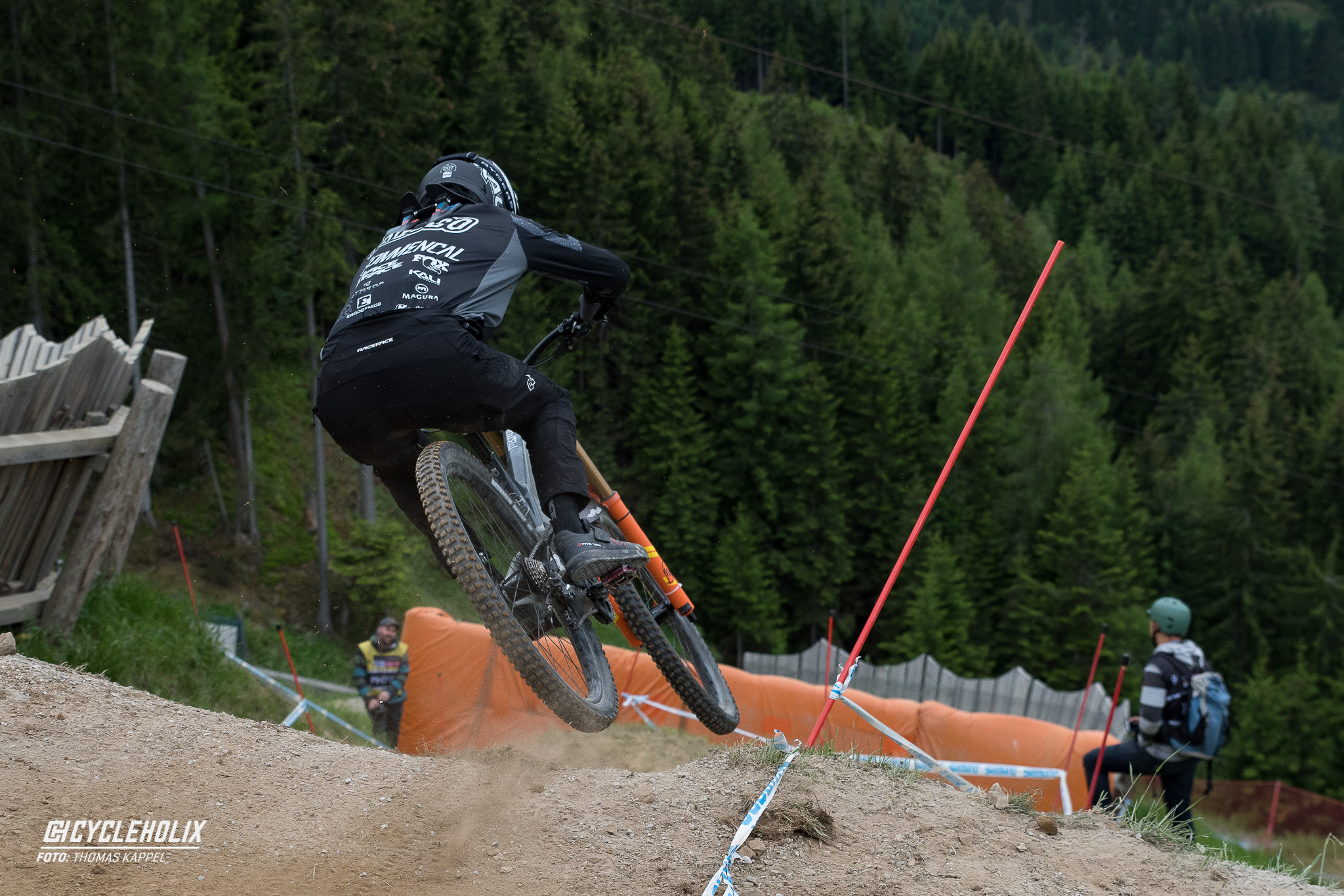 2019 Downhill Worldcup Leogang Finale Action QA 3 Cycleholix