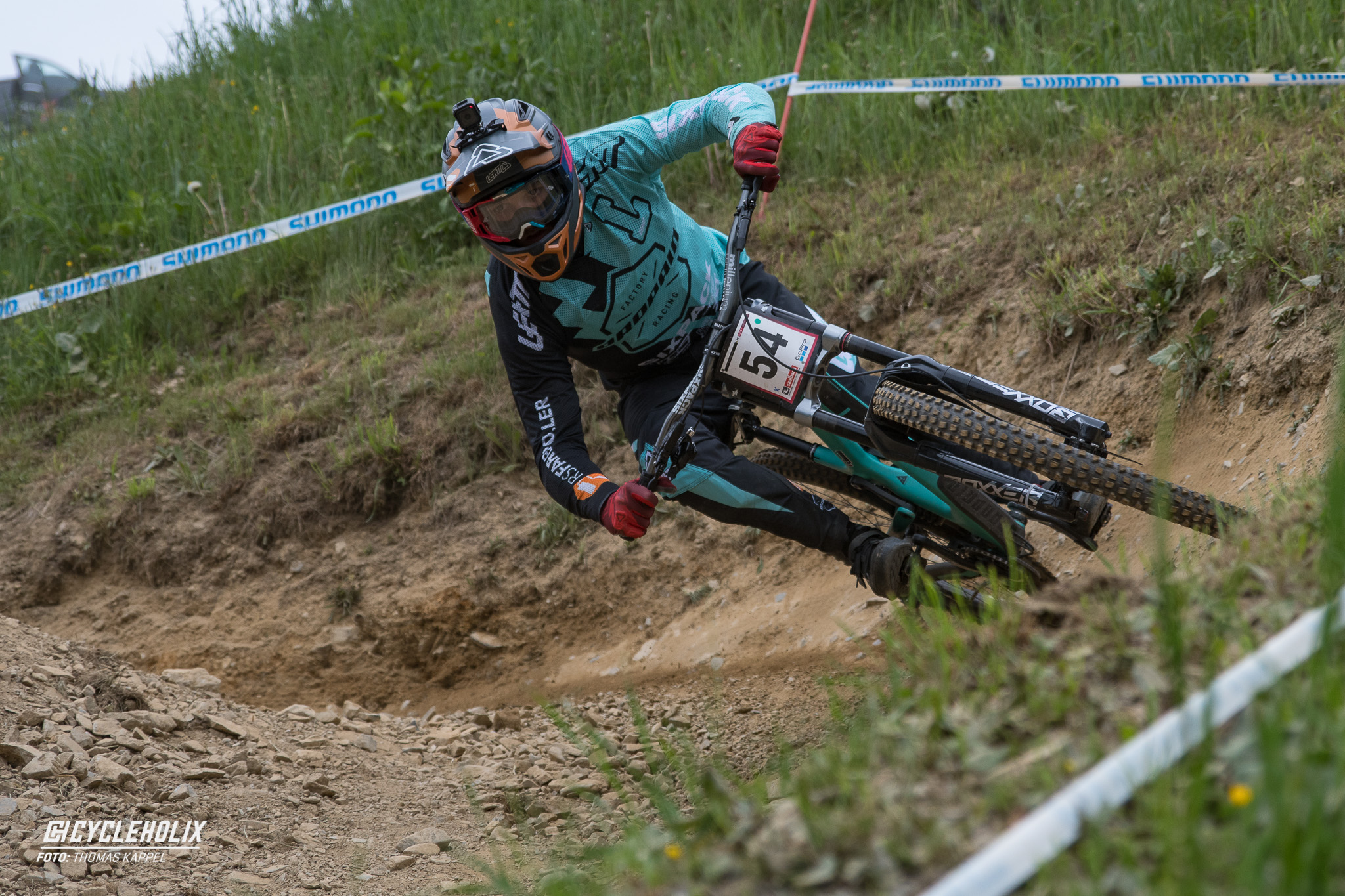 2019 Downhill Worldcup Leogang Finale Action QA 4