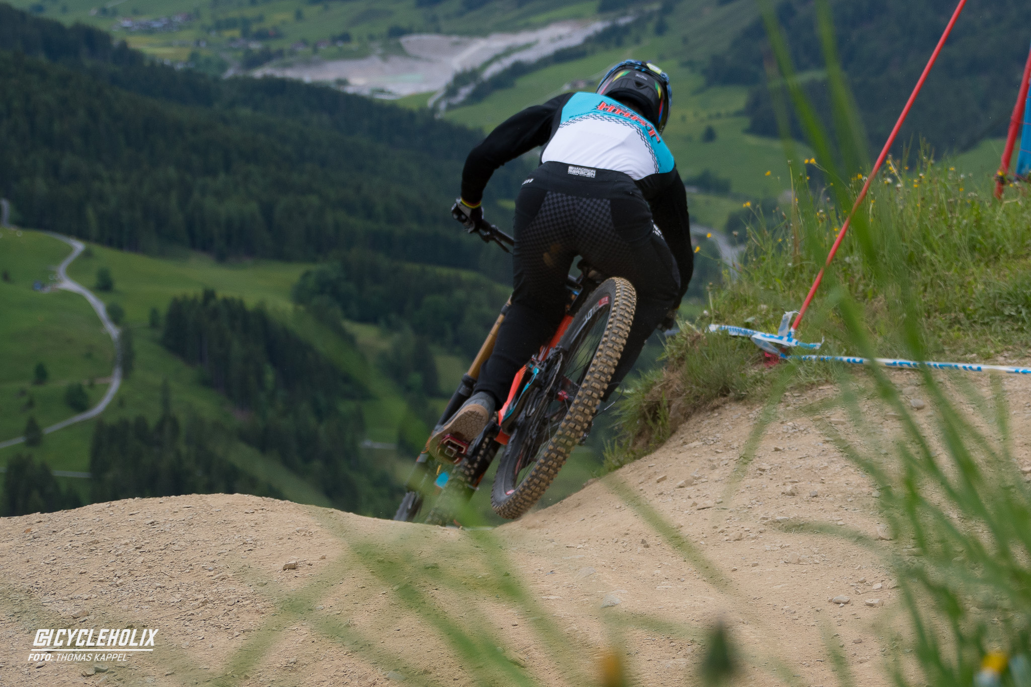 2019 Downhill Worldcup Leogang Finale Action QA 5 Cycleholix
