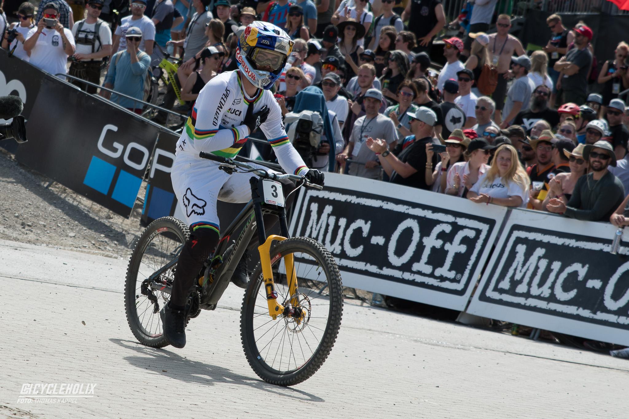2019 Downhill Worldcup Leogang Ziel 12