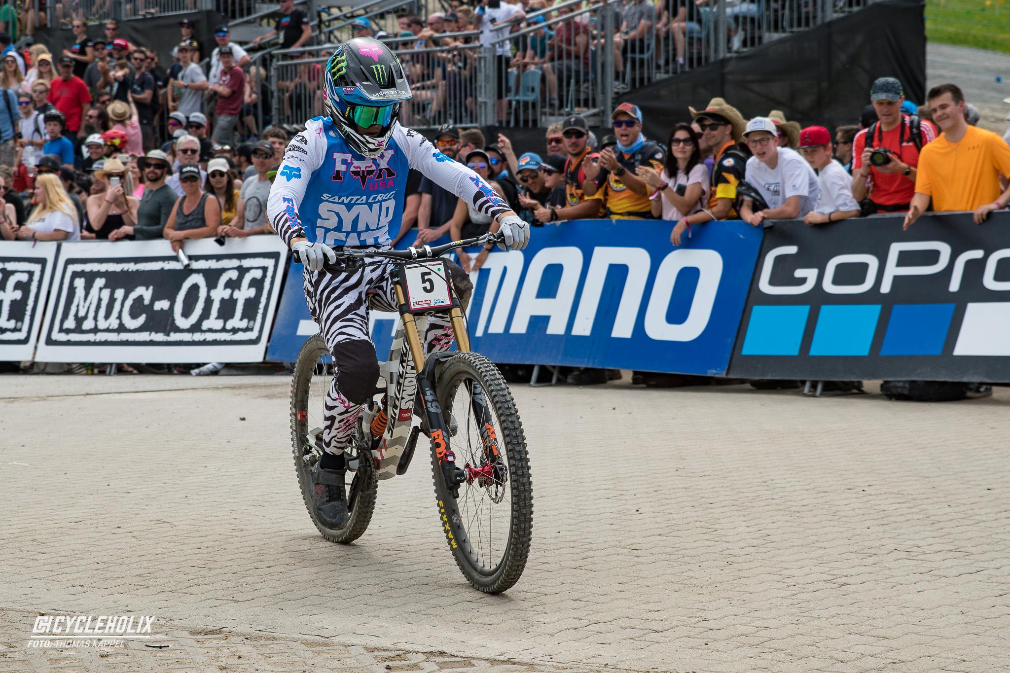 2019 Downhill Worldcup Leogang Ziel 16