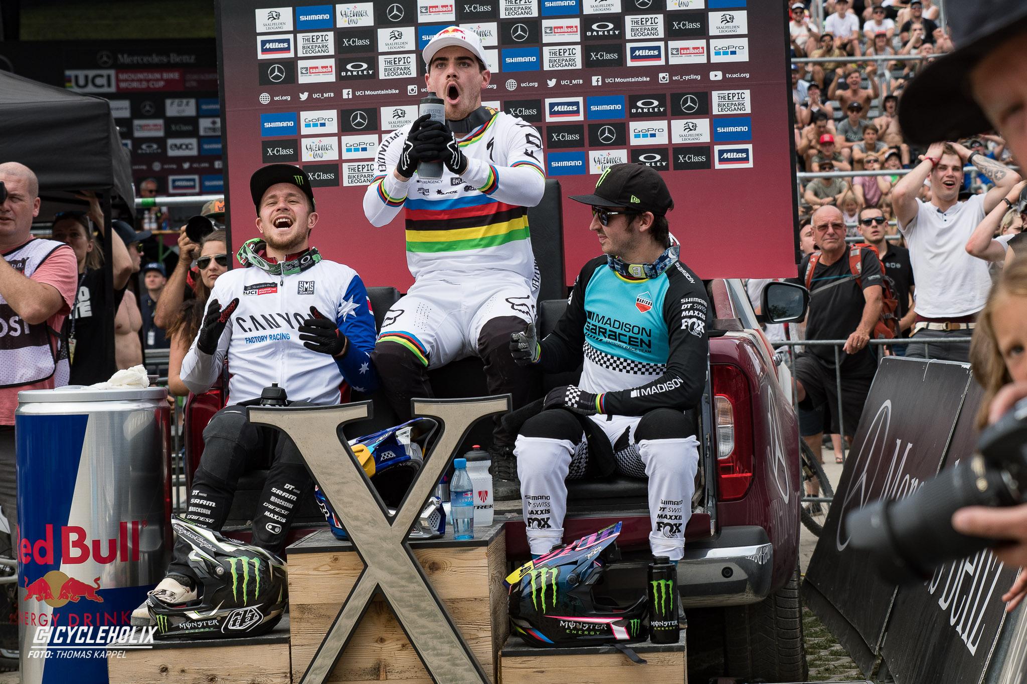 2019 Downhill Worldcup Leogang Ziel 17