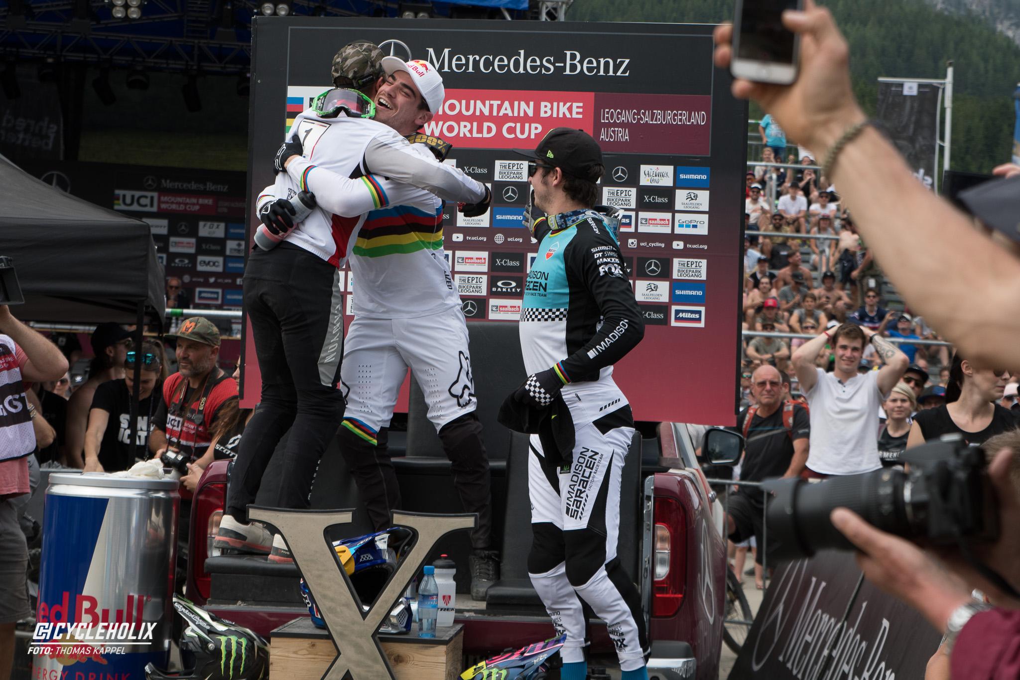 2019 Downhill Worldcup Leogang Ziel 19