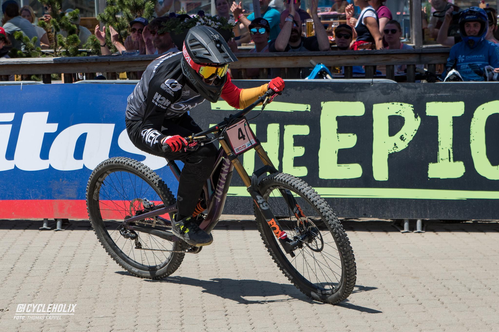 Nina Hoffmann, UCI DOWNhill Worldcup Leogang 2019
