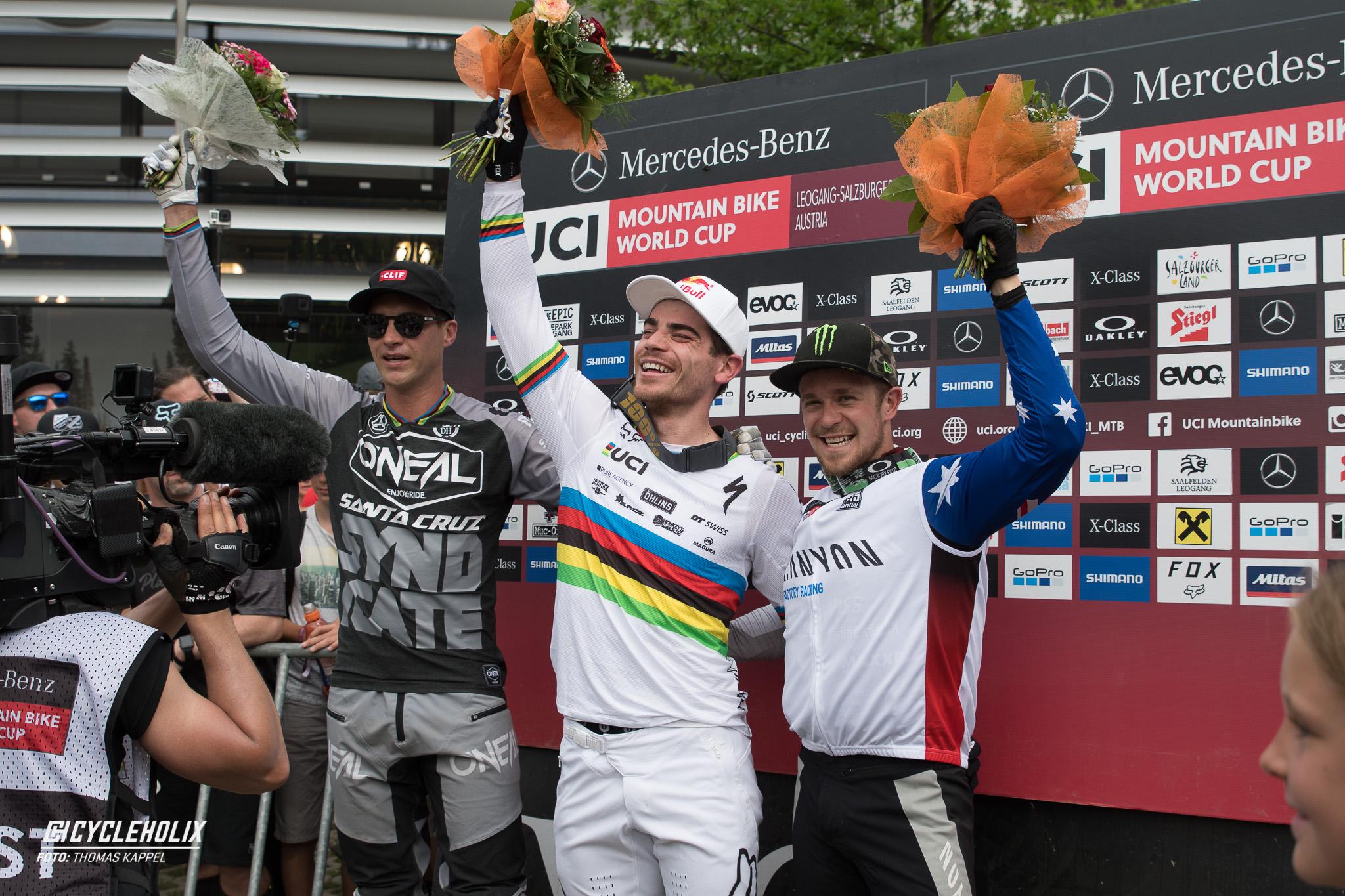 2019 Downhill Worldcup Leogang Ziel 24