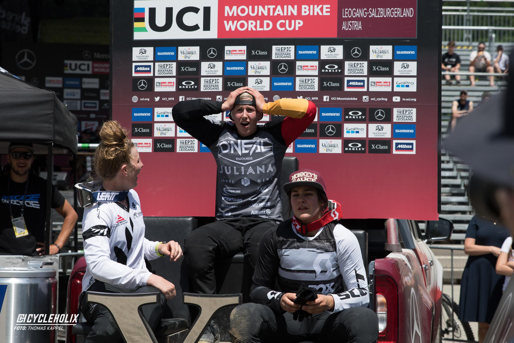 2019 Downhill Worldcup Leogang Ziel 3