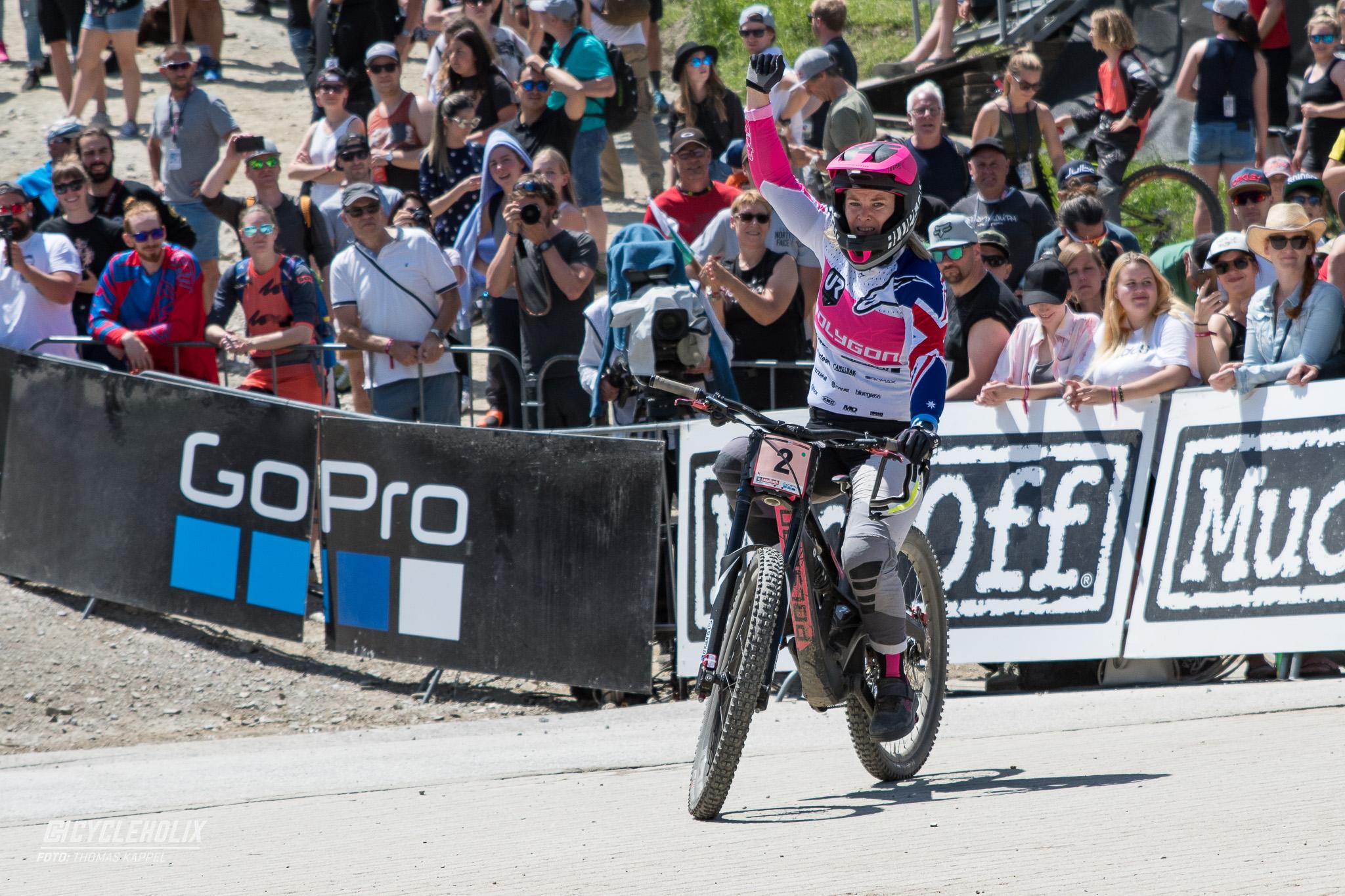 2019 Downhill Worldcup Leogang Ziel 7