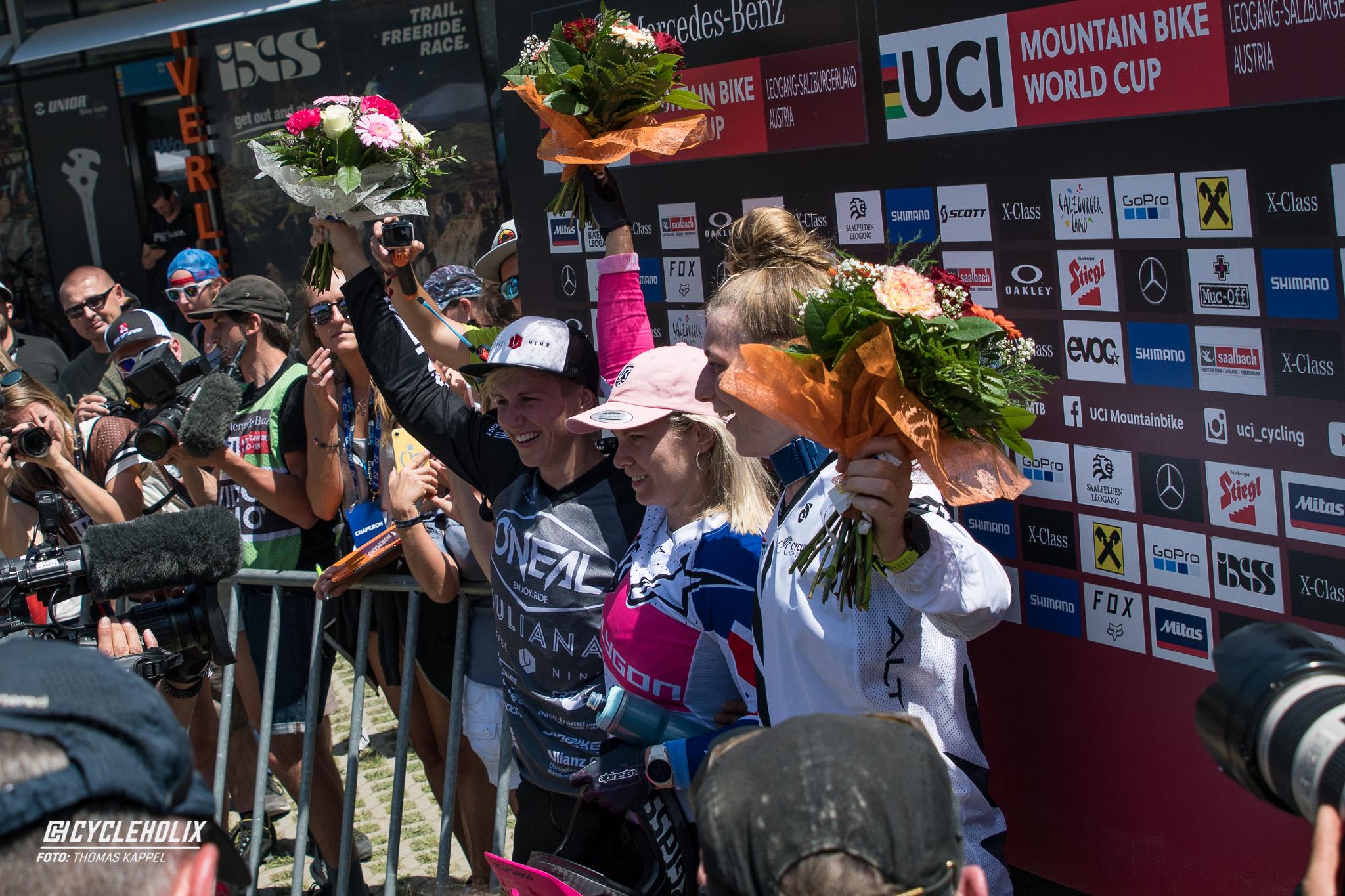 2019 Downhill Worldcup Leogang Ziel 9