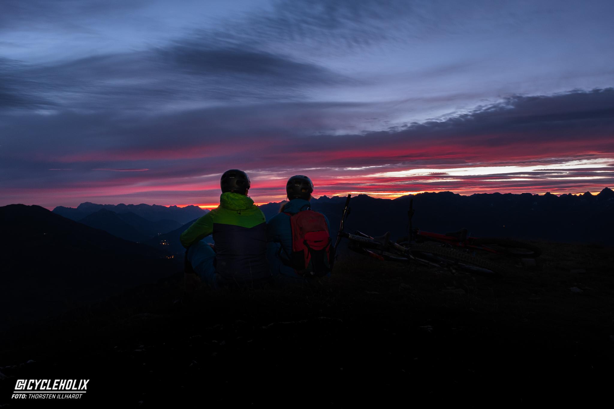 Serfaus Fiss Ladis Sonnenaufgang