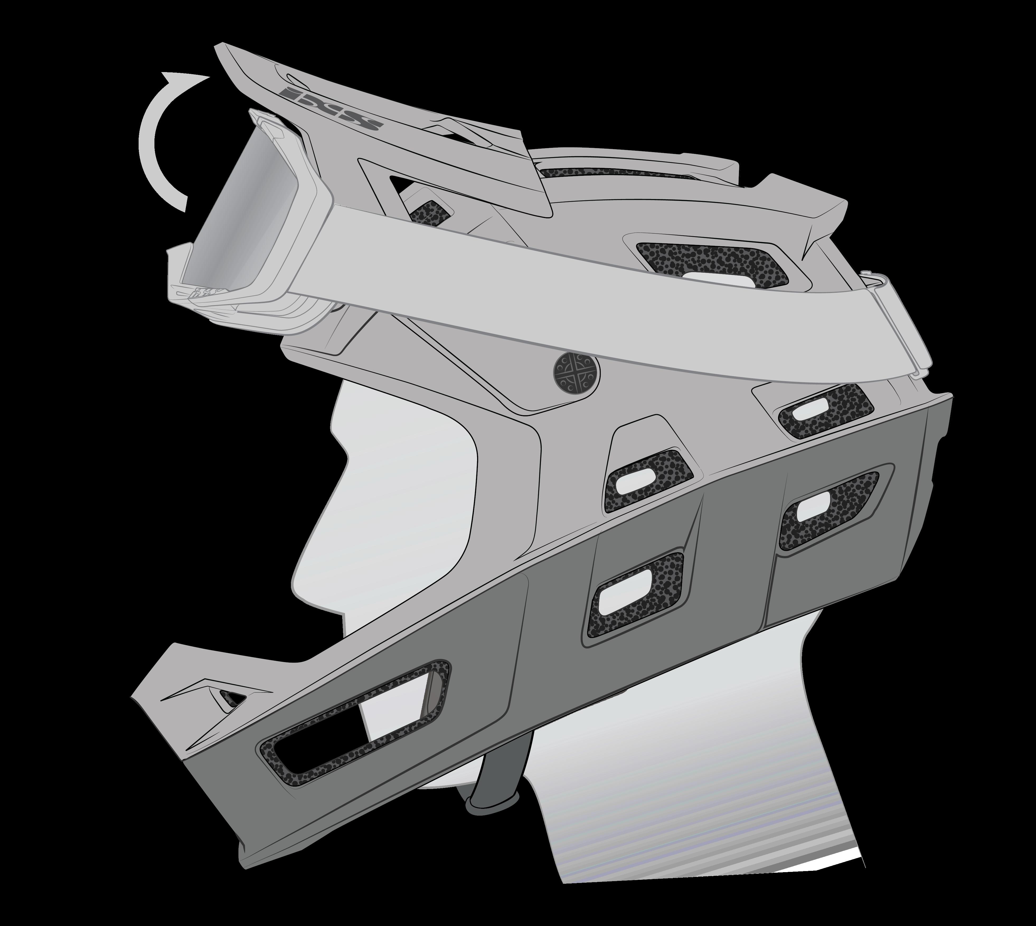 TriggerFF Visor adjustment