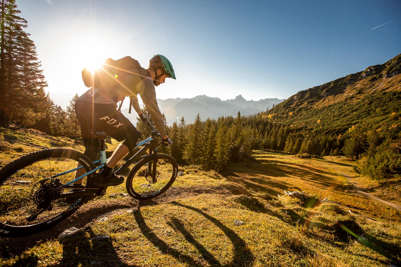 Bikepark Brandnertal Enduro Trails ©Michael Marte